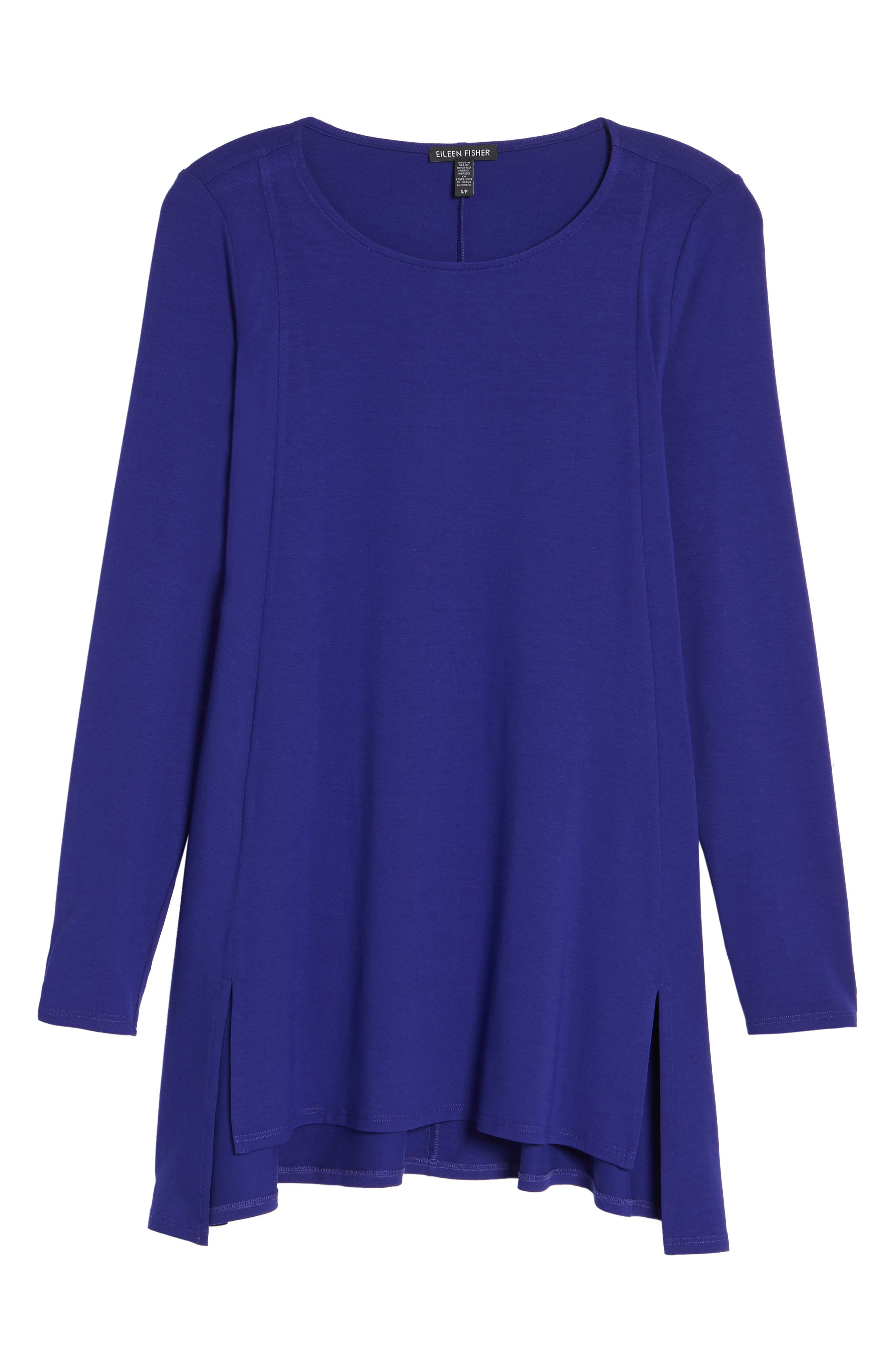 Alternate Image 6  - Eileen Fisher Scoop Neck Tunic