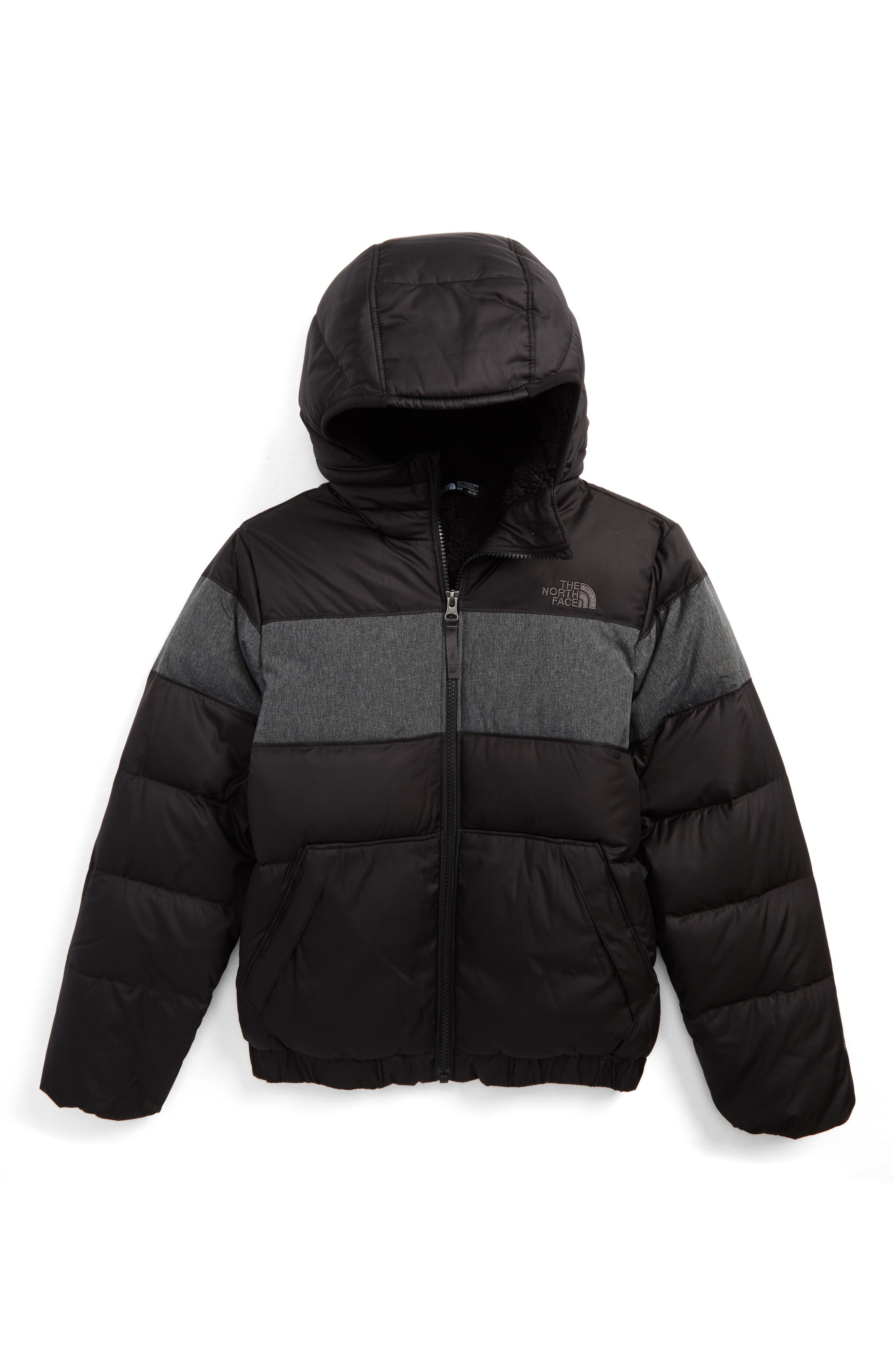 Main Image - The North Face Moondoggy 2.0 Water Repellent Down Jacket (Big Boys)