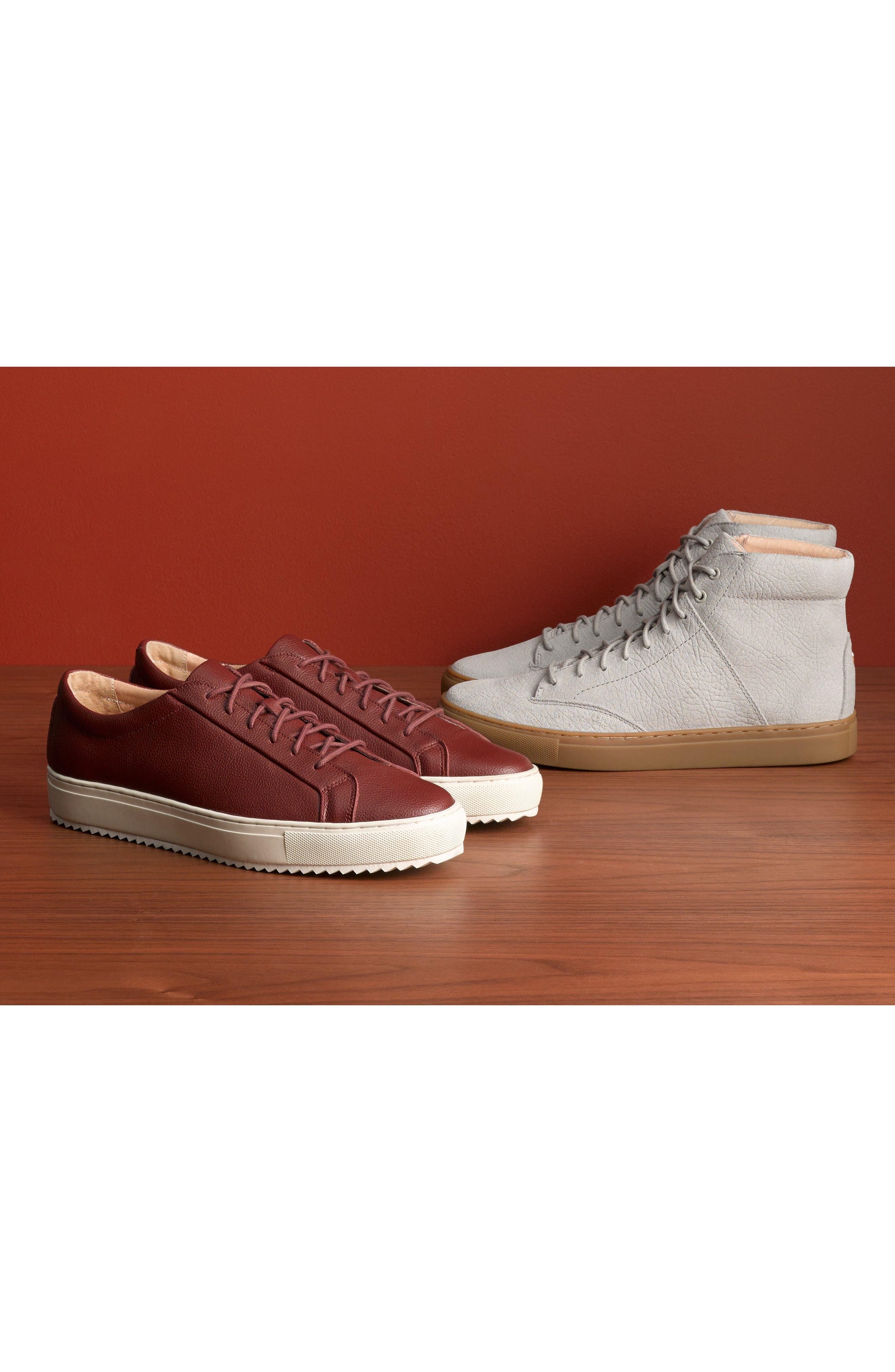 'Porter' High Top Sneaker,                             Alternate thumbnail 7, color,