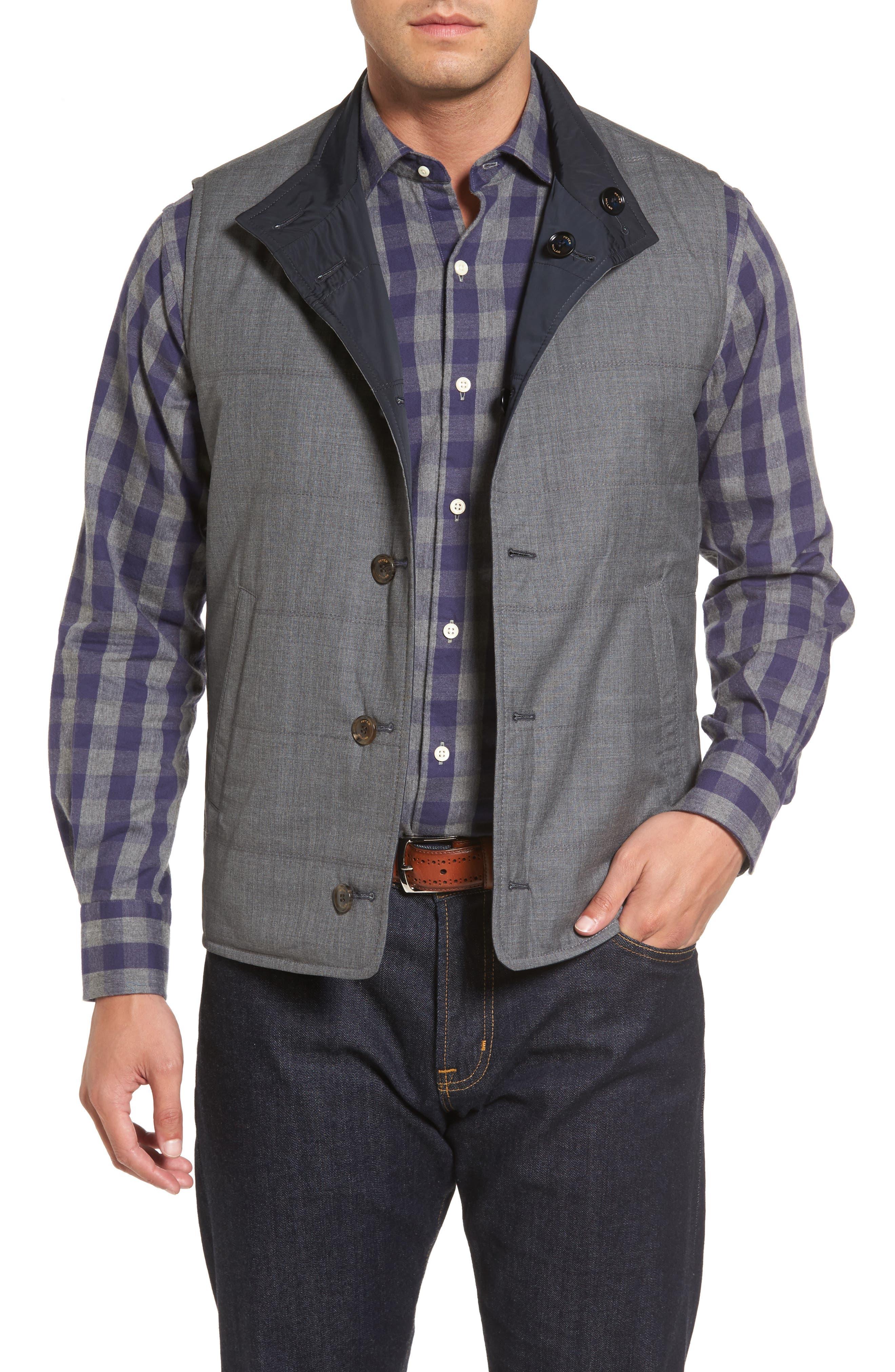 Alternate Image 2  - Peter Millar Collection Reversible Vest