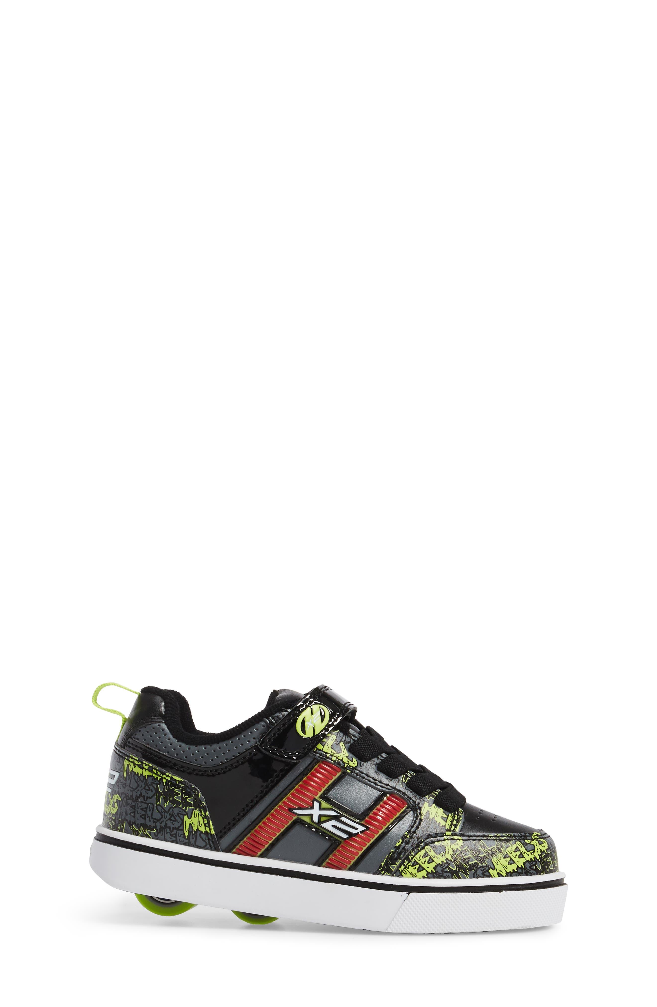 Alternate Image 3  - Heelys Bolt Light-Up Skate Shoe (Toddler & Little Kid)