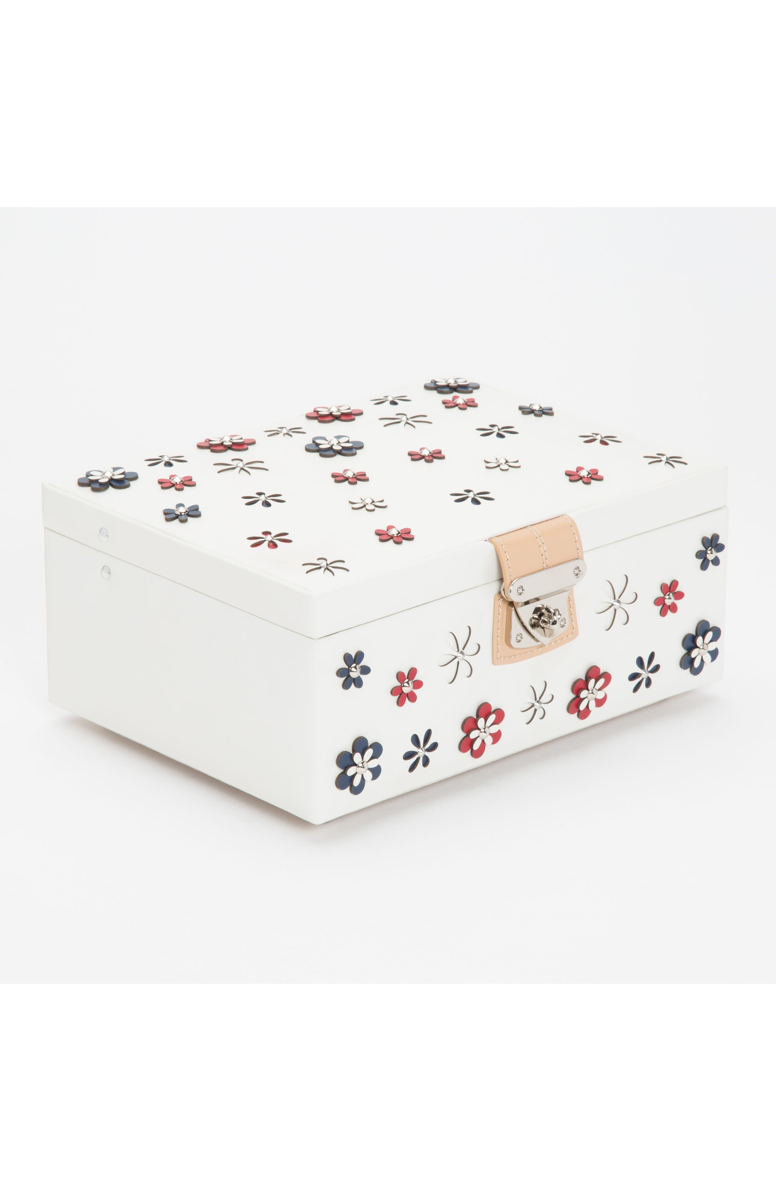 Alternate Image 4  - Wolf Medium Blossom Jewelry Box
