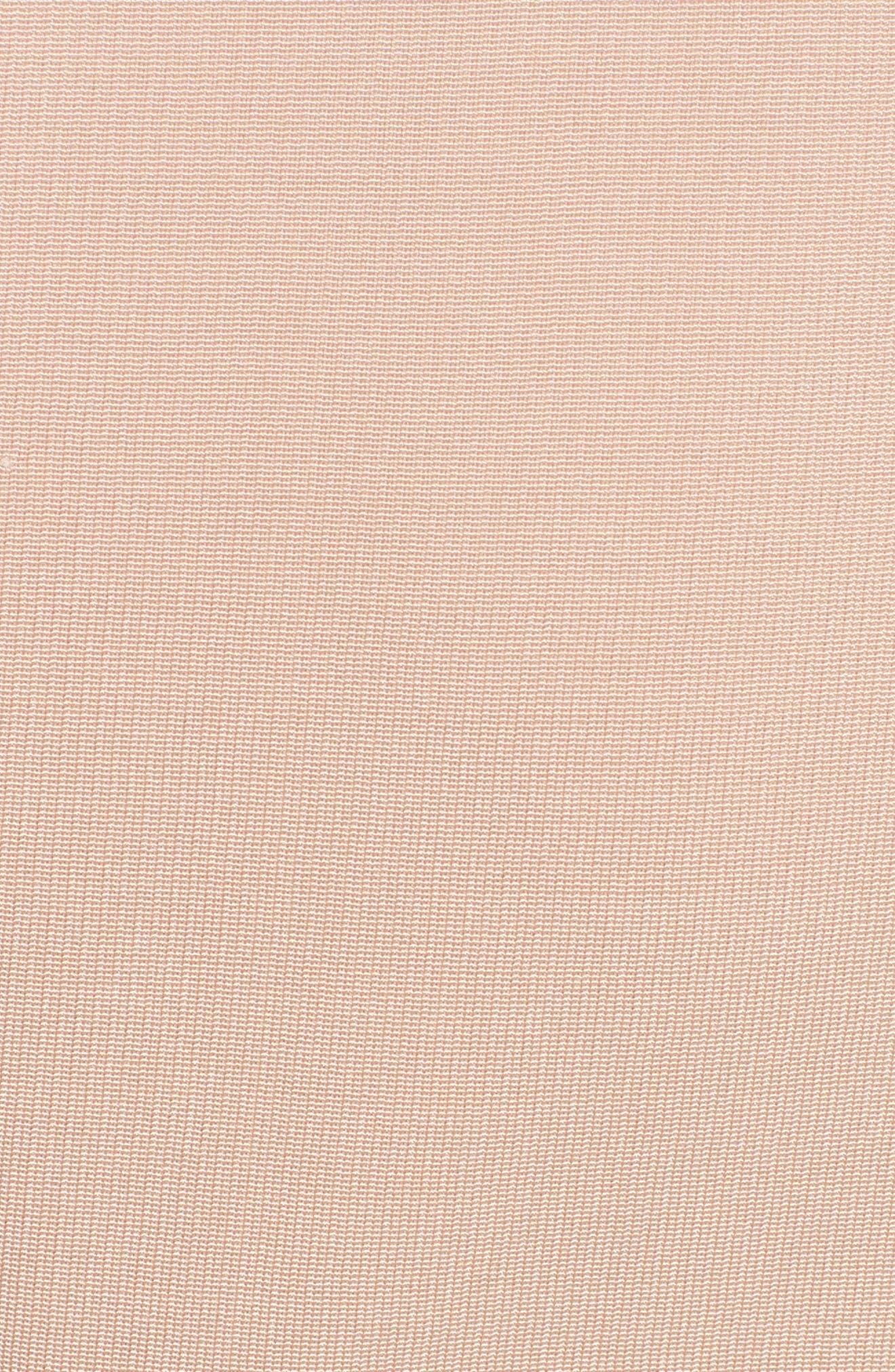 Stripe Flare Dress,                             Alternate thumbnail 6, color,                             Multi