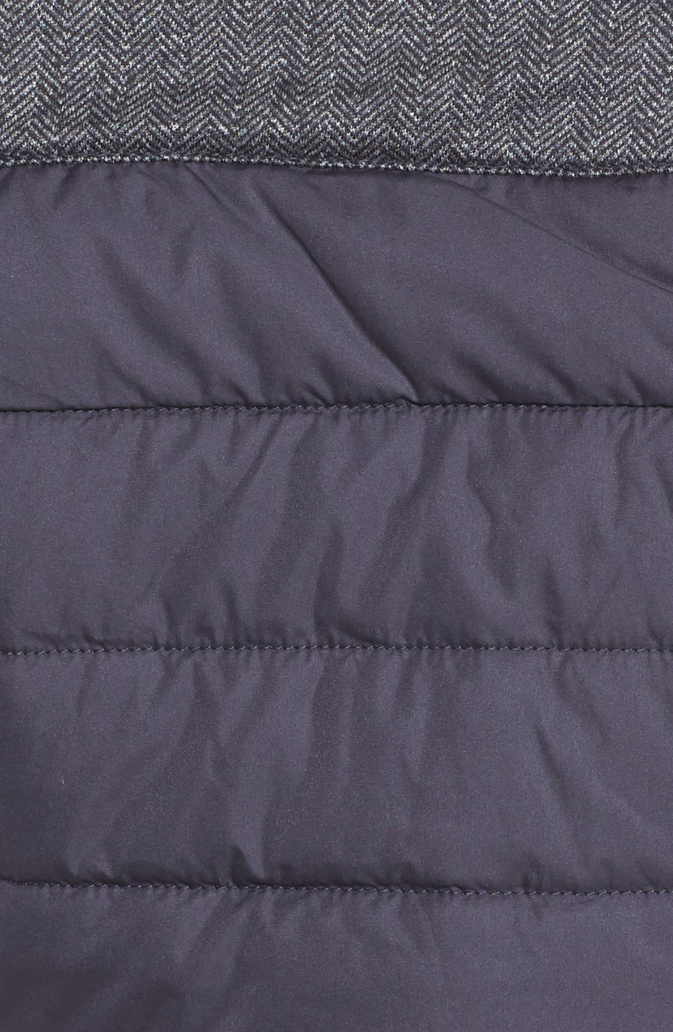 HellyHansen 'Astra' Jacket,                             Alternate thumbnail 6, color,                             Graphite Blue