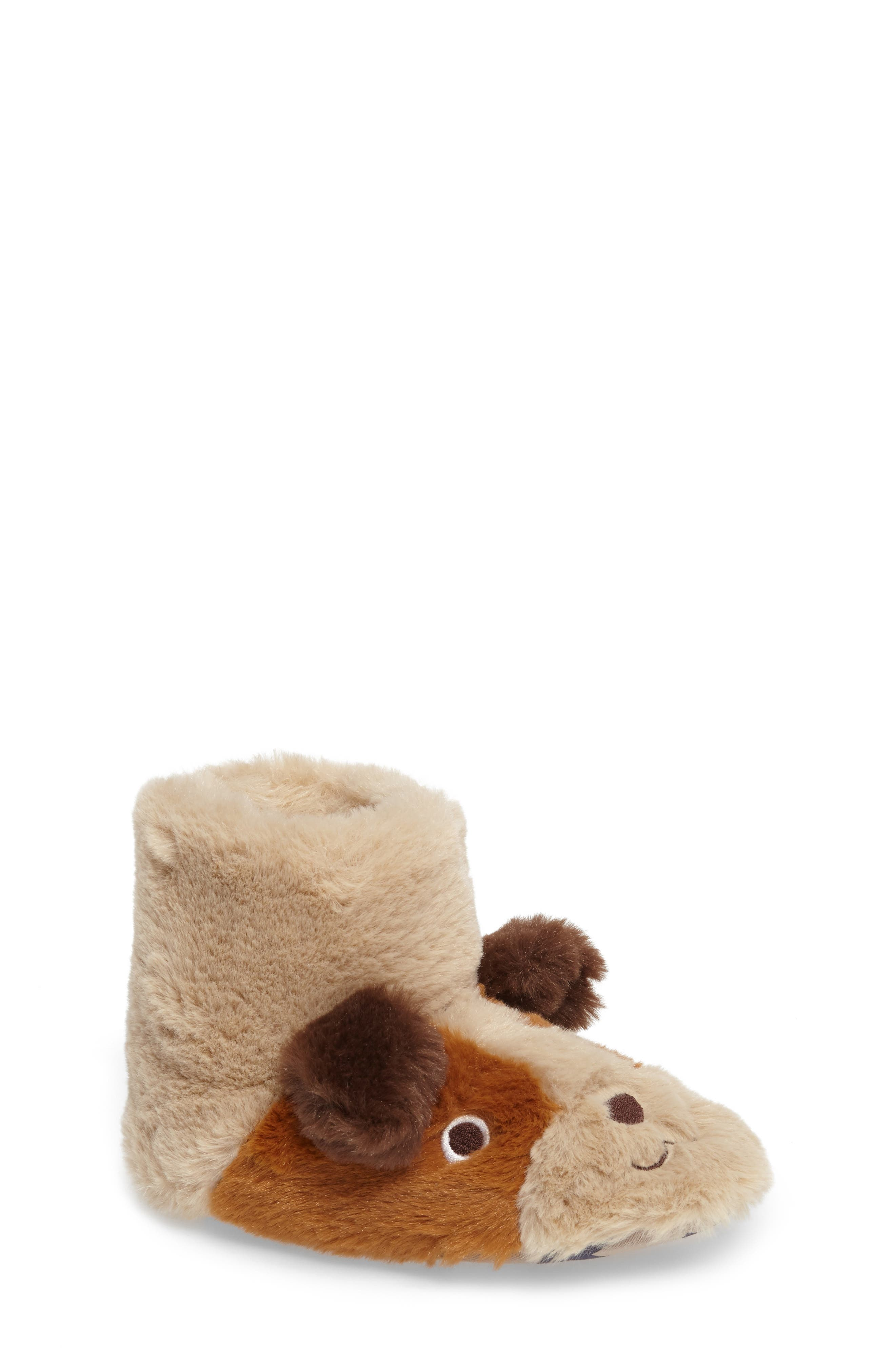 Puppy Slipper,                         Main,                         color, Oatmeal