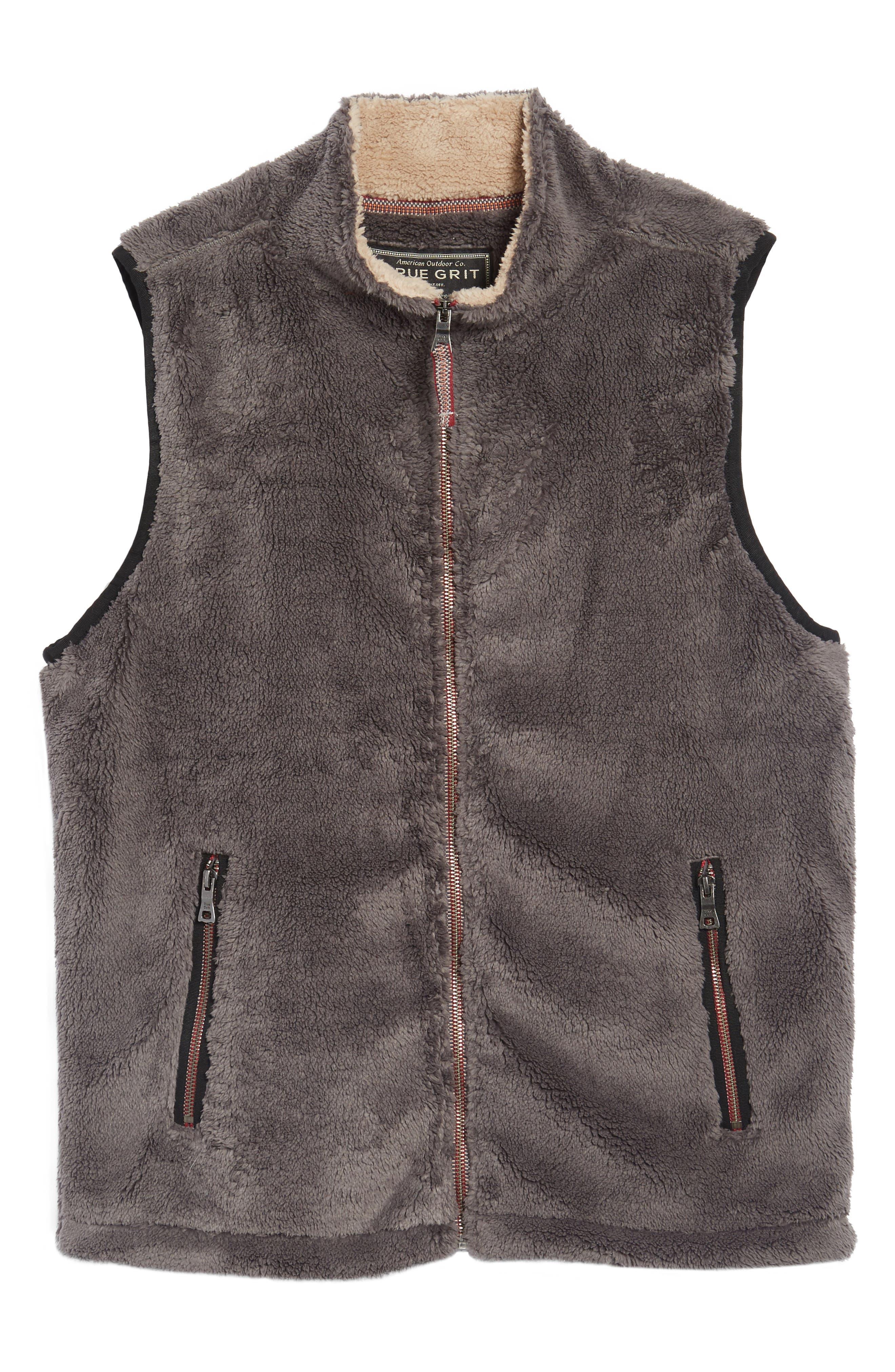 Alternate Image 6  - True Grit Double Up Pebble Pile Faux Fur Vest