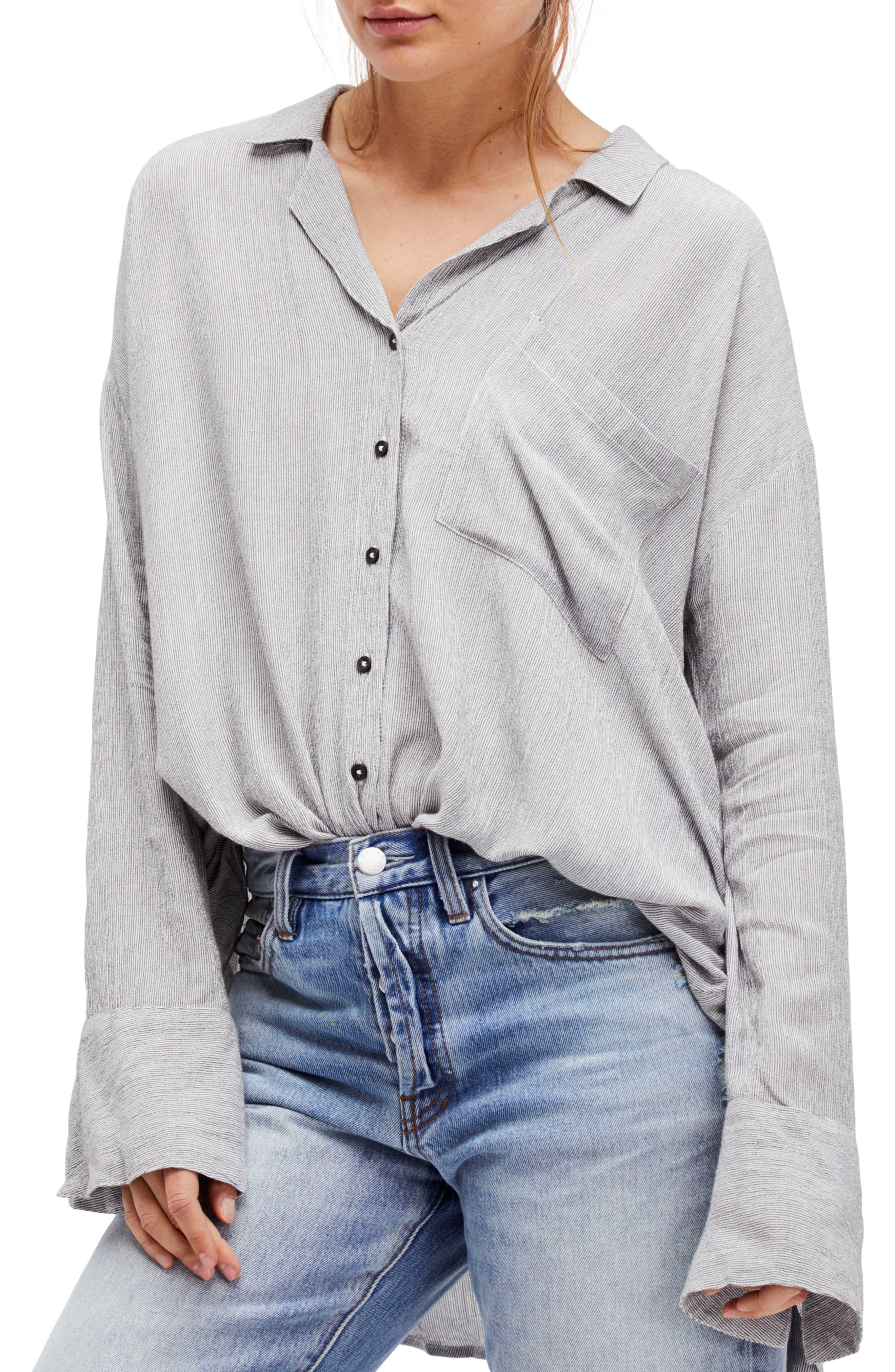 Magic Breeze Shirt,                         Main,                         color, Black