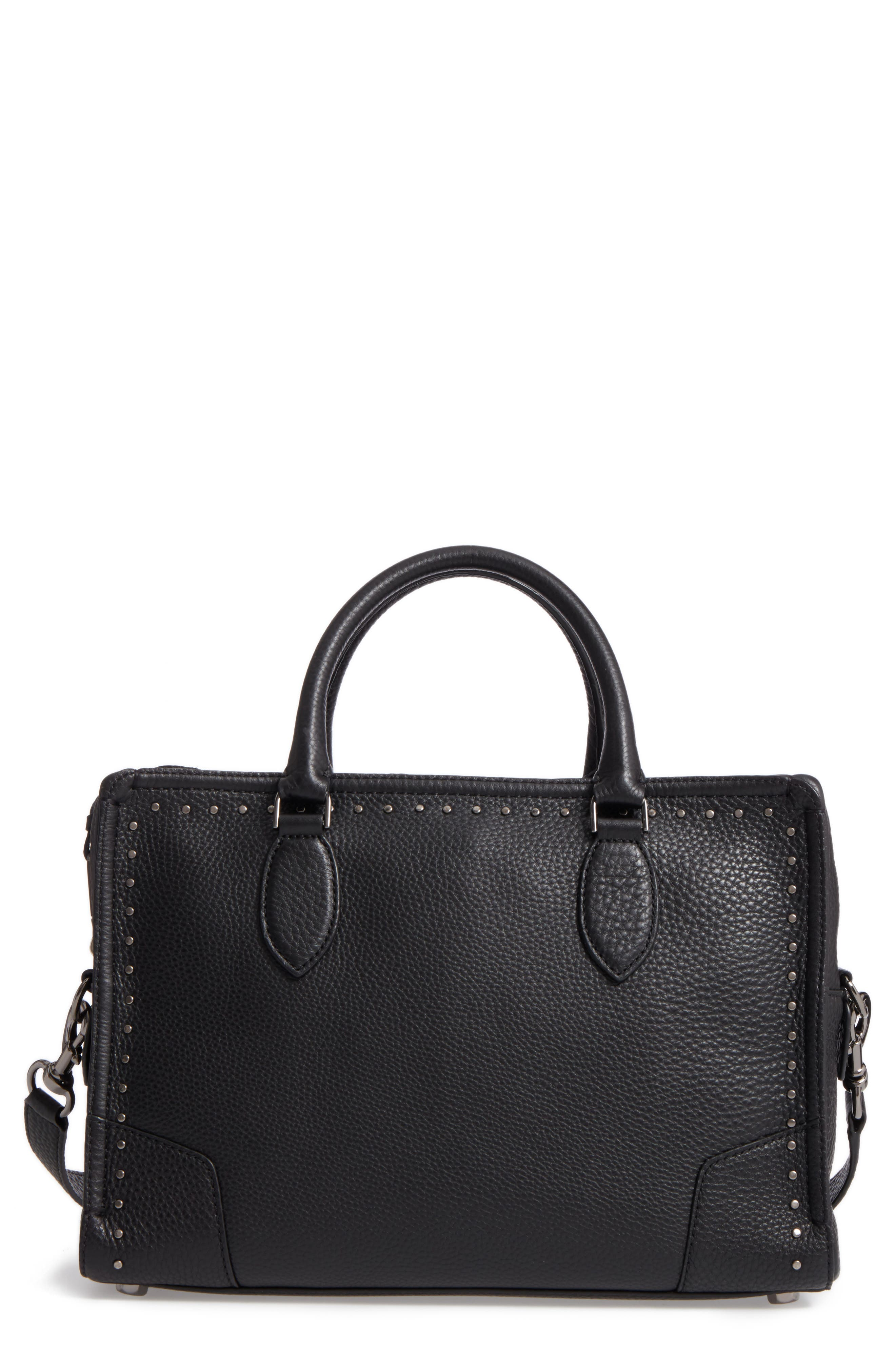 Moonwalking Satchel,                         Main,                         color, Black