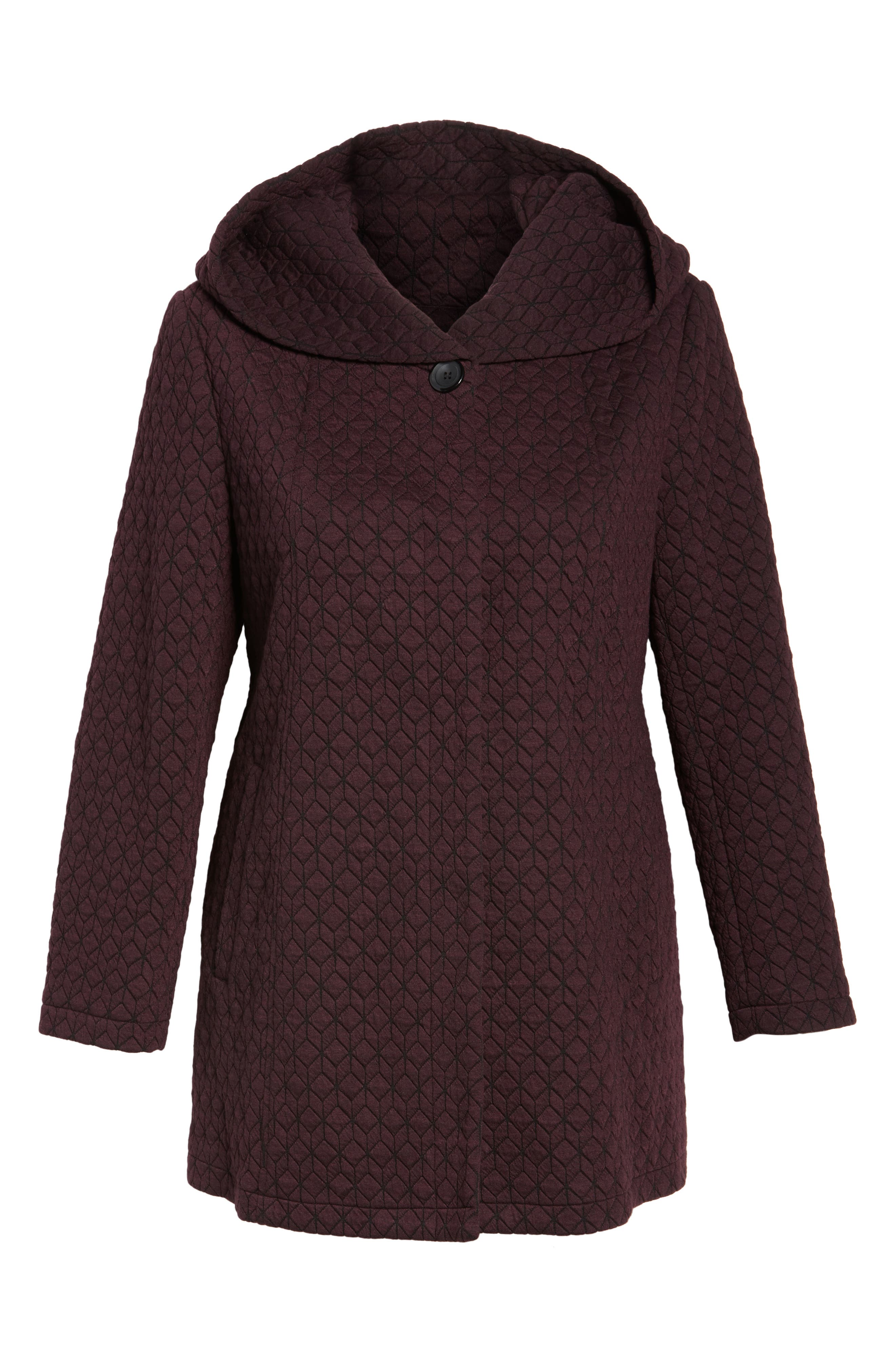 Alternate Image 6  - Gallery Cozy Knit Coat (Plus Size)