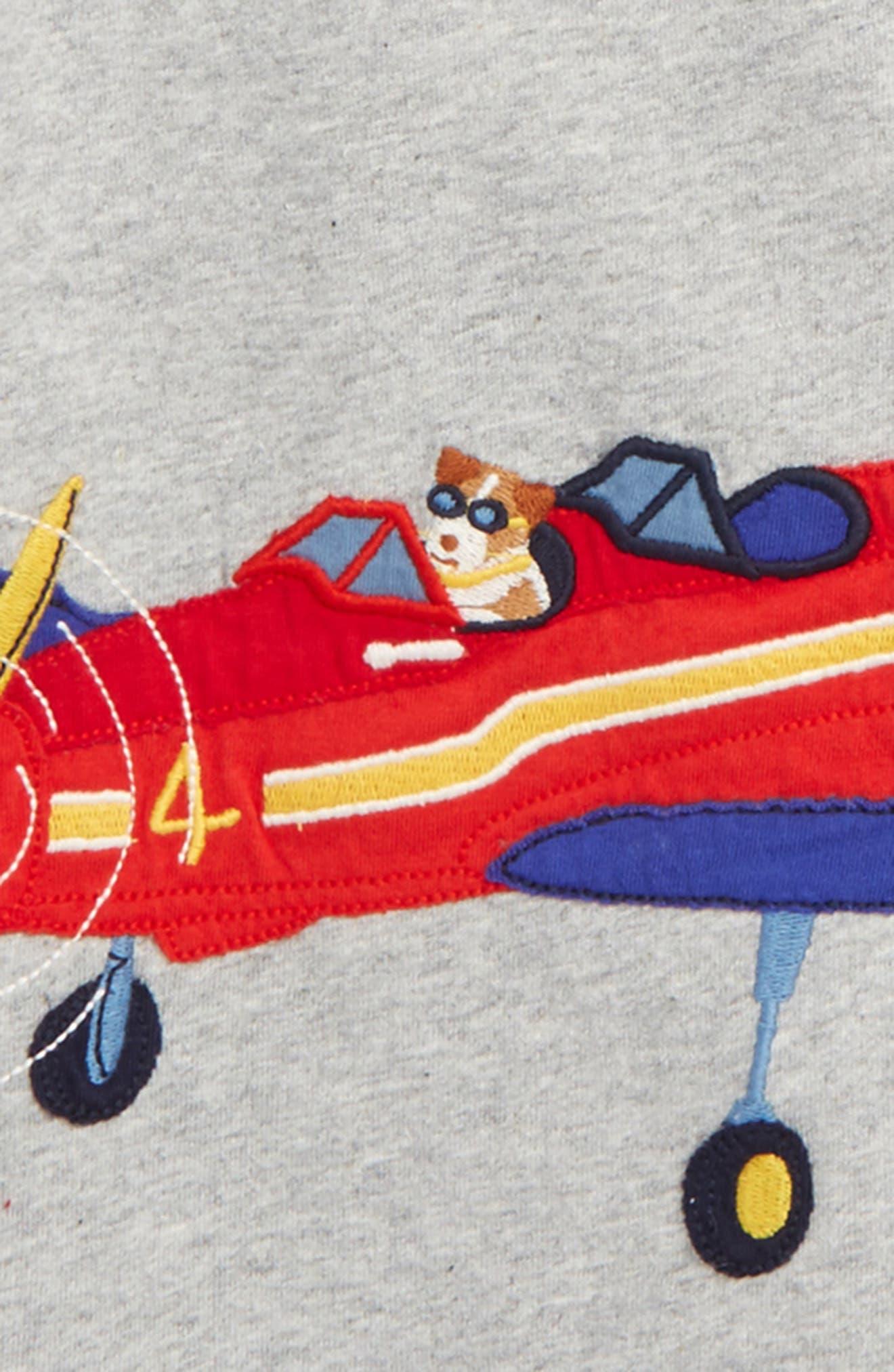 Alternate Image 2  - Mini Boden Vehicle Appliqué Layer T-Shirt (Toddler Boys, Little Boys & Big Boys)