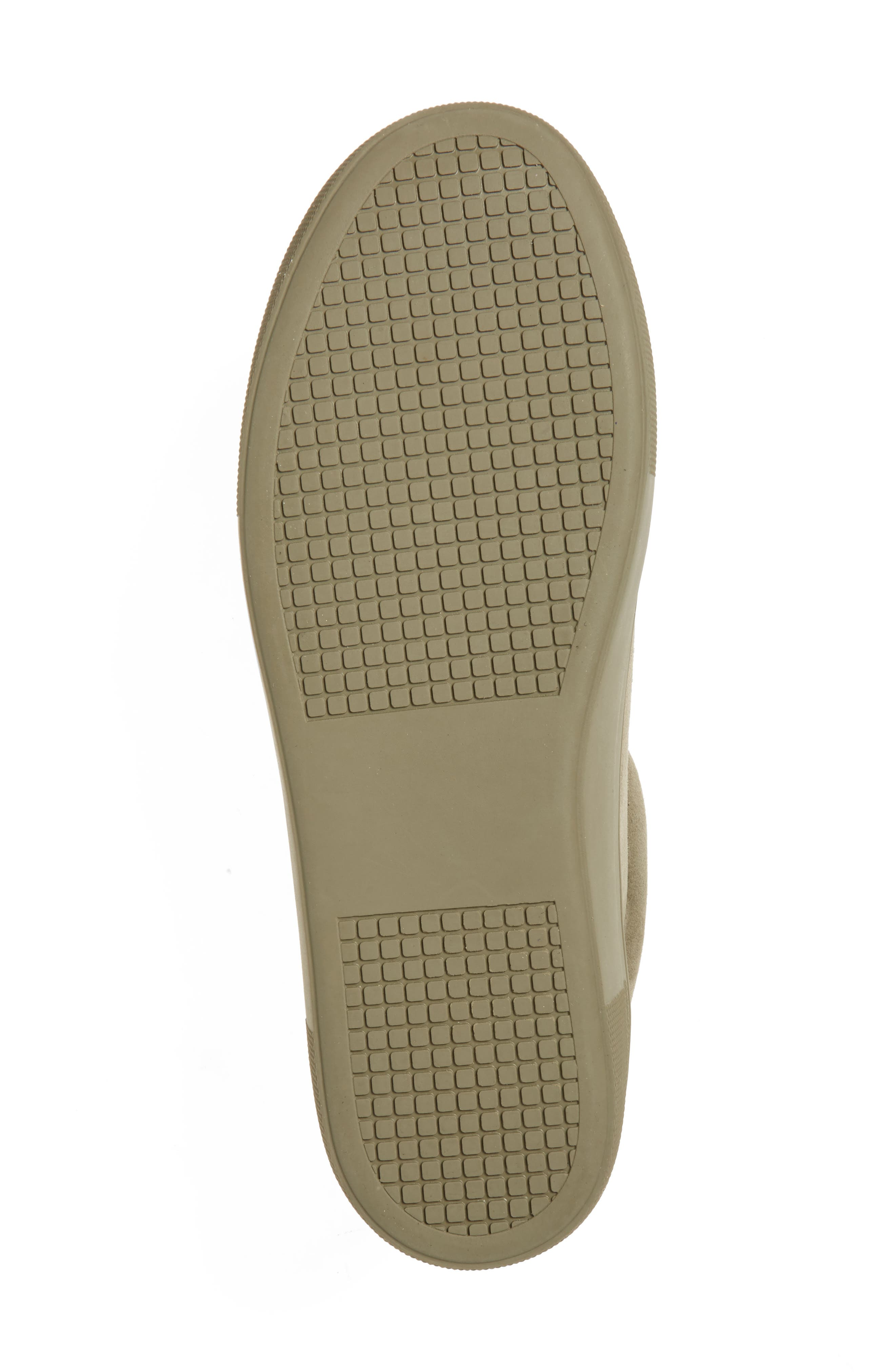 Gisela Low Top Sneaker,                             Alternate thumbnail 6, color,                             Olive Suede