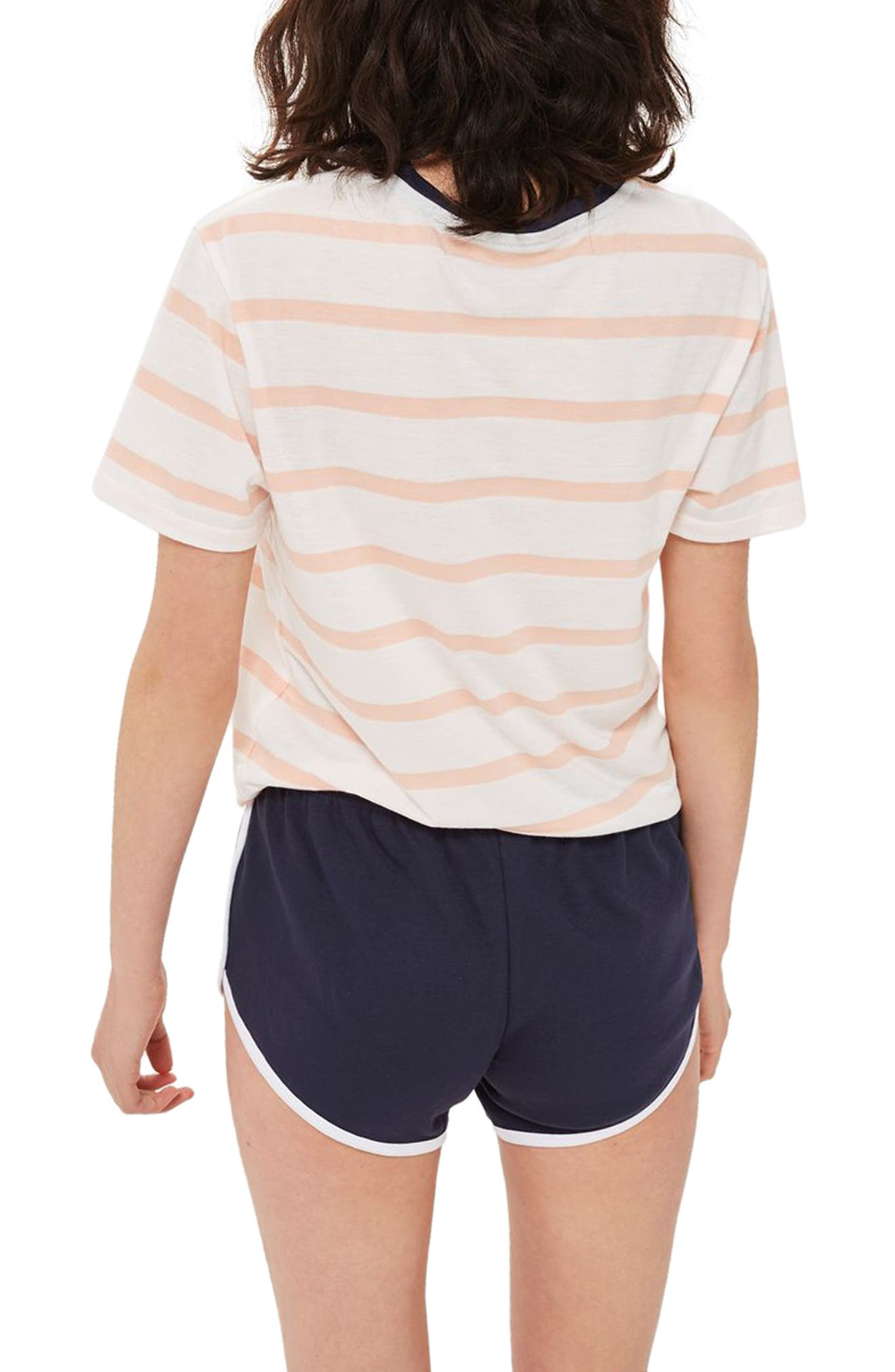 Lazy Days Pajamas,                             Alternate thumbnail 2, color,                             White Multi