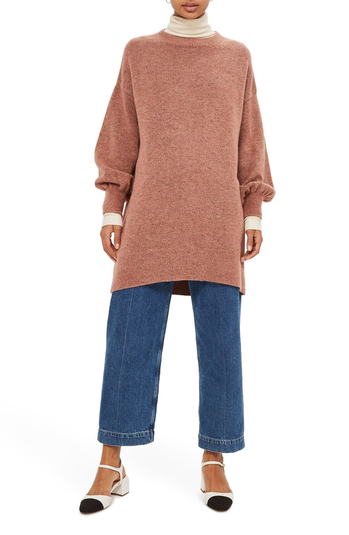 Alternate Image 1 Selected - Topshop Sweater Dress