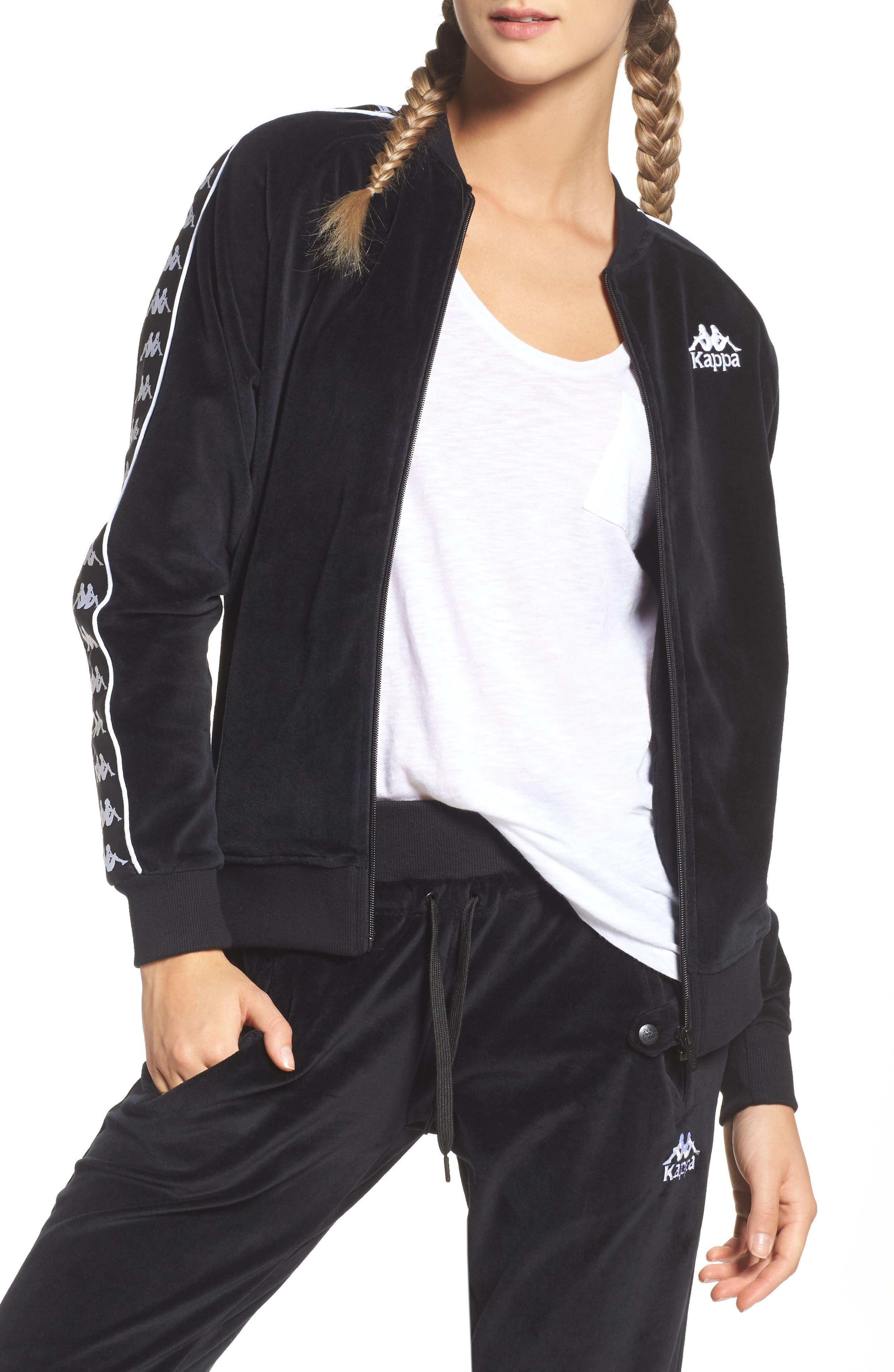 Authentic Mivvie Track Jacket,                         Main,                         color, Black