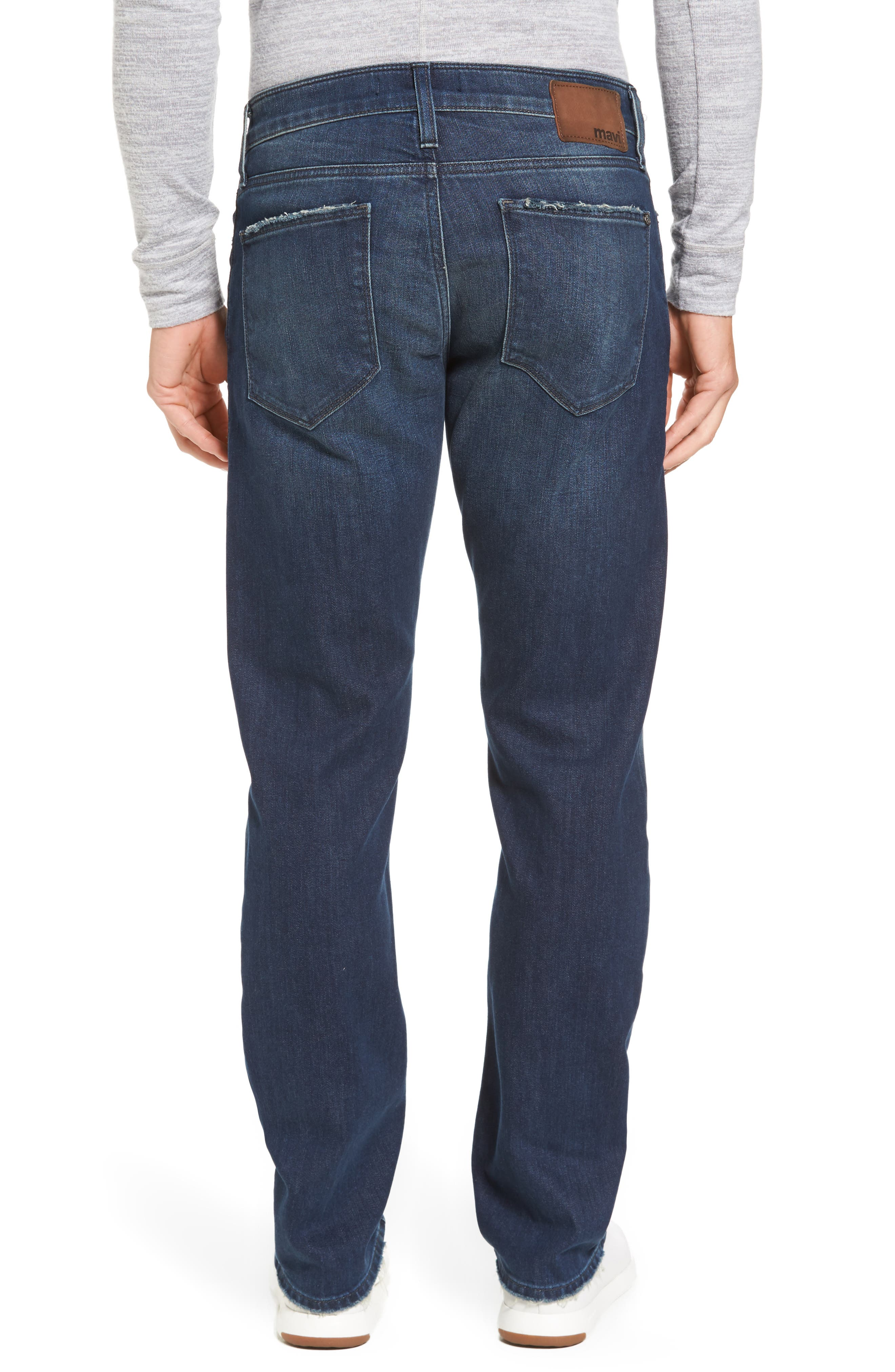 Alternate Image 2  - Mavi Jeans Zach Straight Leg Jeans (Light Shaded Authentic Vintage)