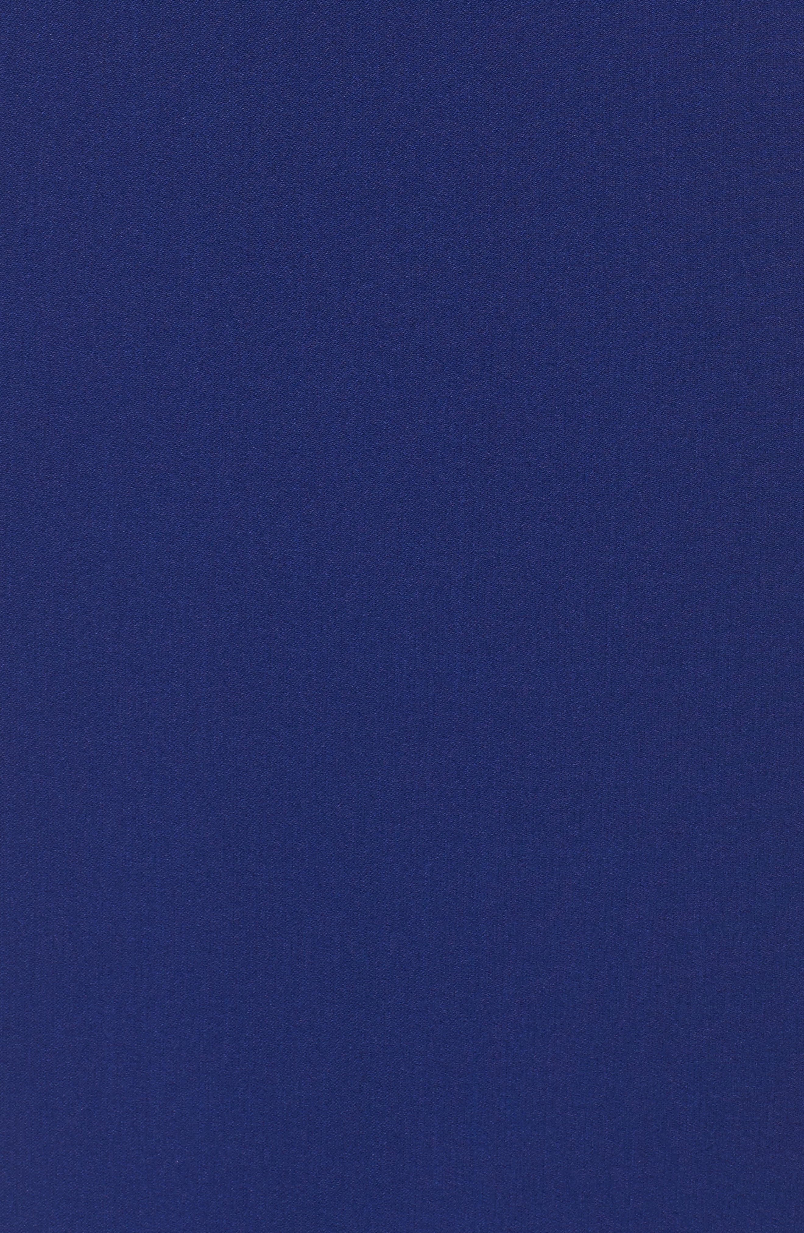 Alternate Image 5  - Adrianna Papell Crepe Sheath Dress (Regular & Petite)