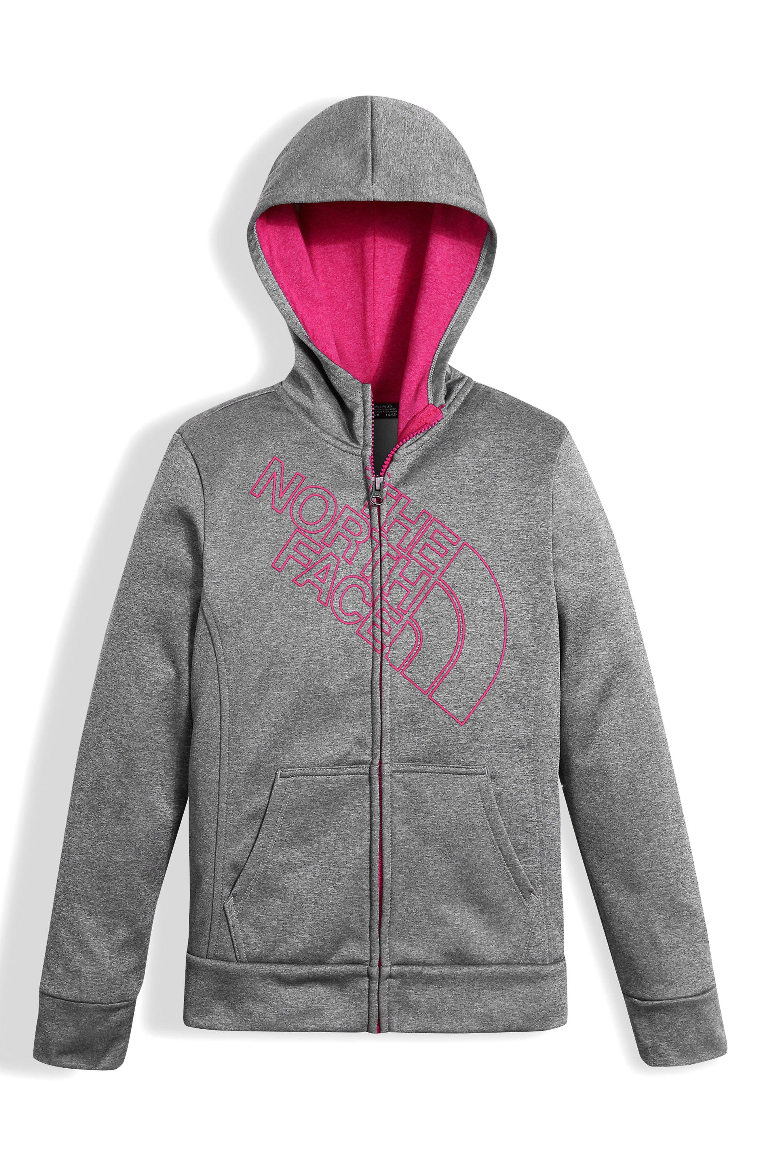 Surgent Full Zip Hoodie,                         Main,                         color, Medium Heather Grey