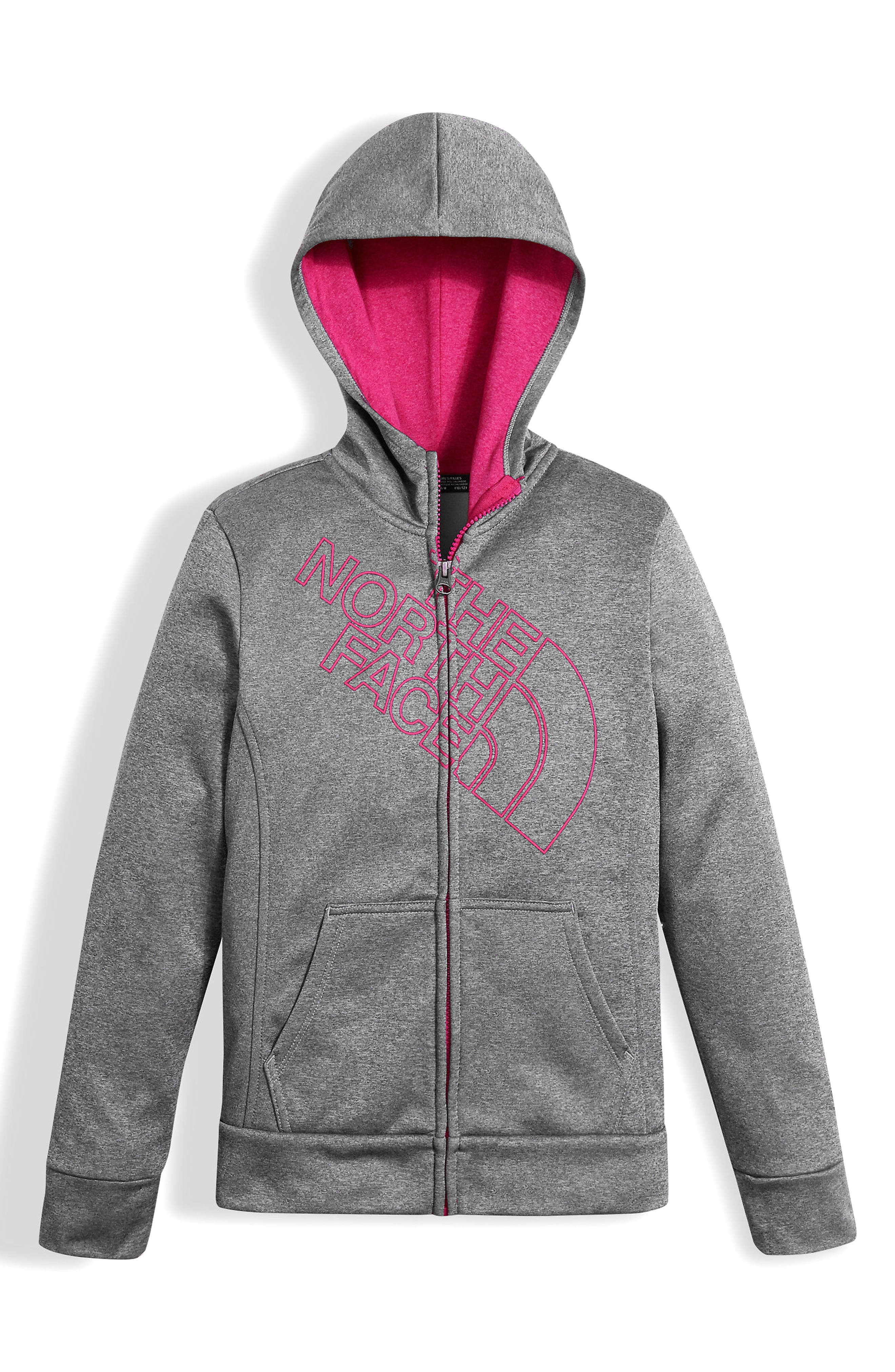 The North Face Surgent Full Zip Hoodie (Big Girls)