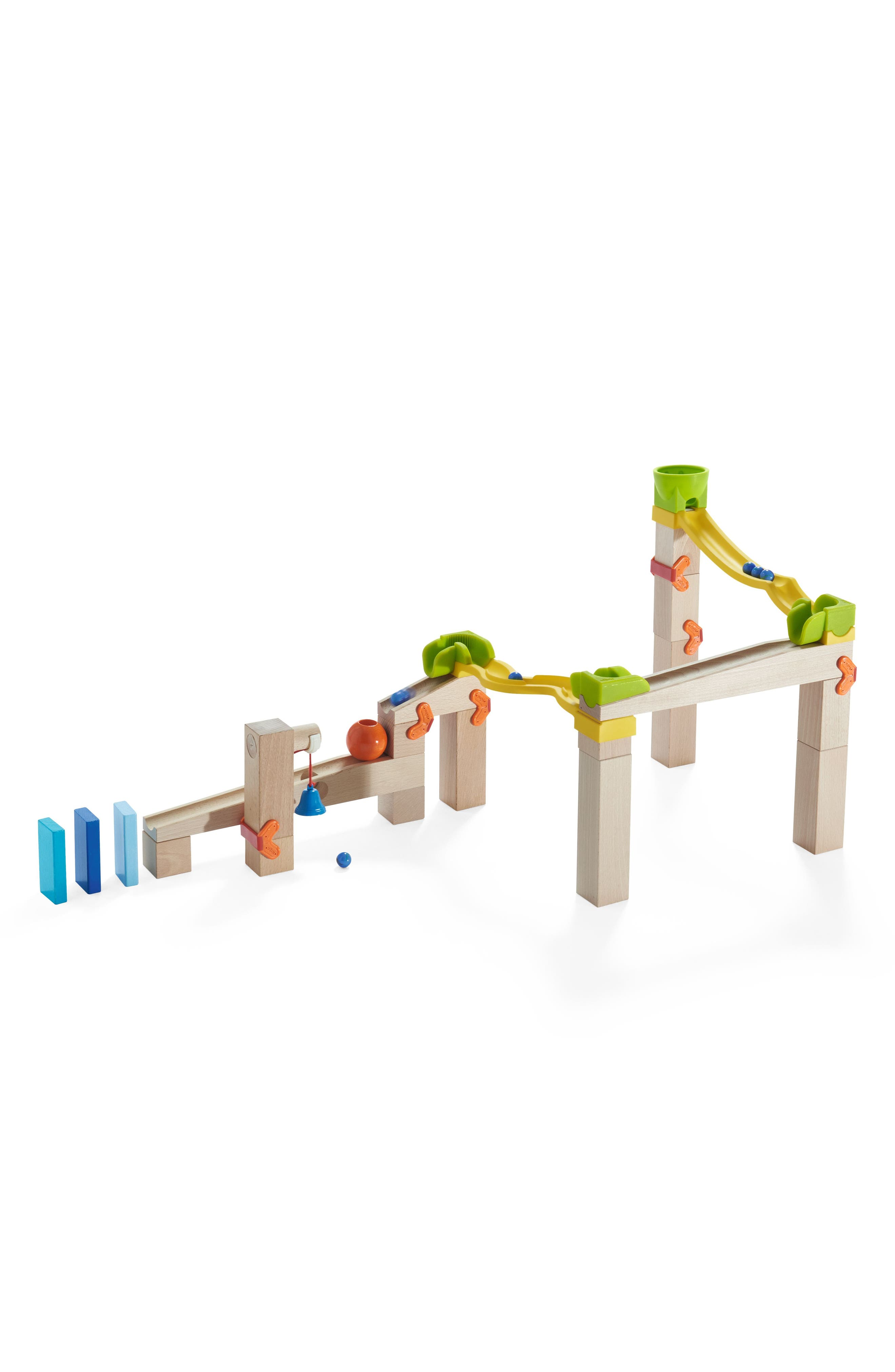 My First Ball Track 41-Piece Basic Pack Switch Track Play Set,                             Alternate thumbnail 2, color,                             Brown