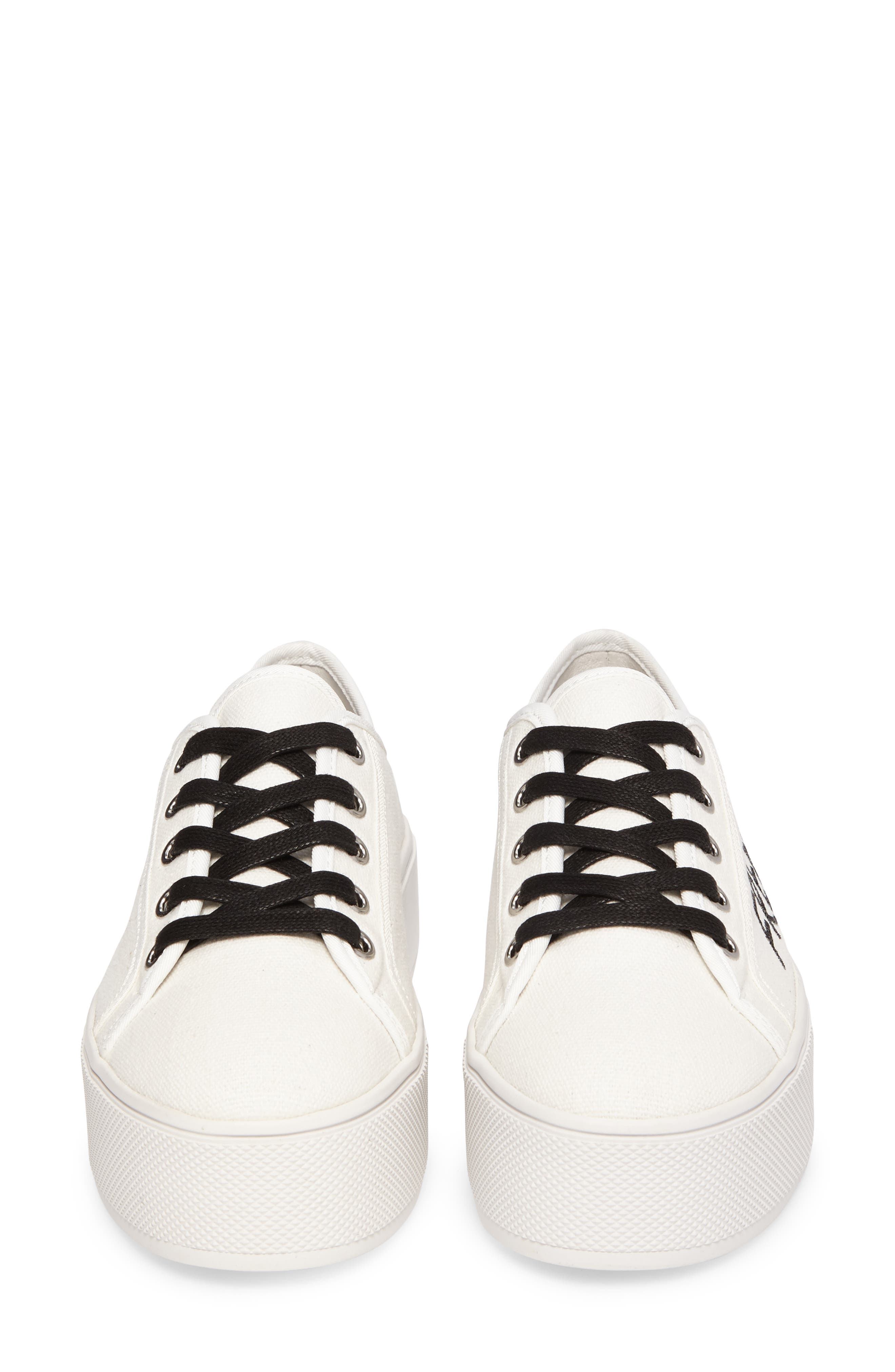 Alternate Image 5  - Steve Madden Fink Platform Sneaker (Women)