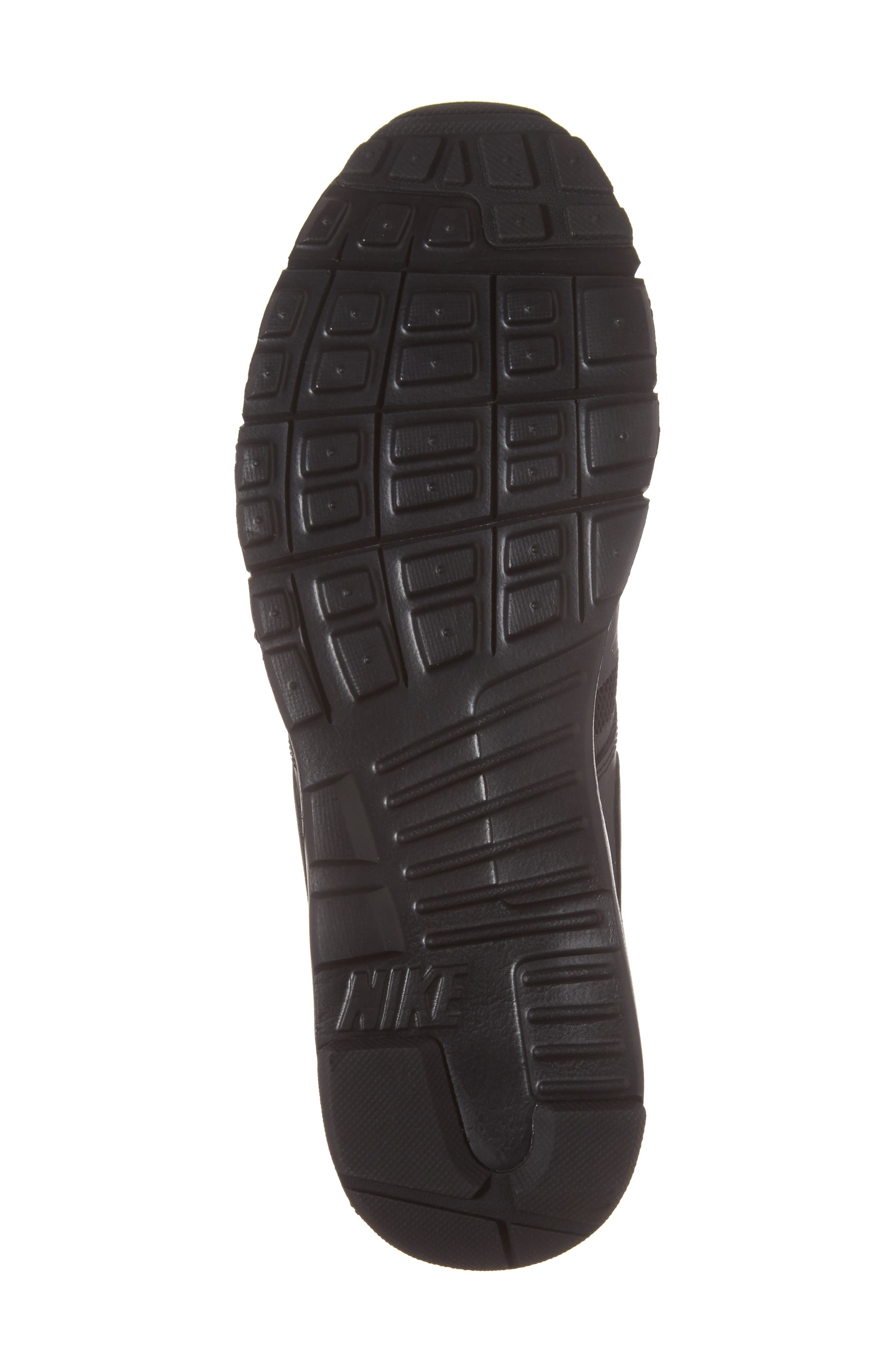 Air Max Vision Sneaker,                             Alternate thumbnail 6, color,                             Black