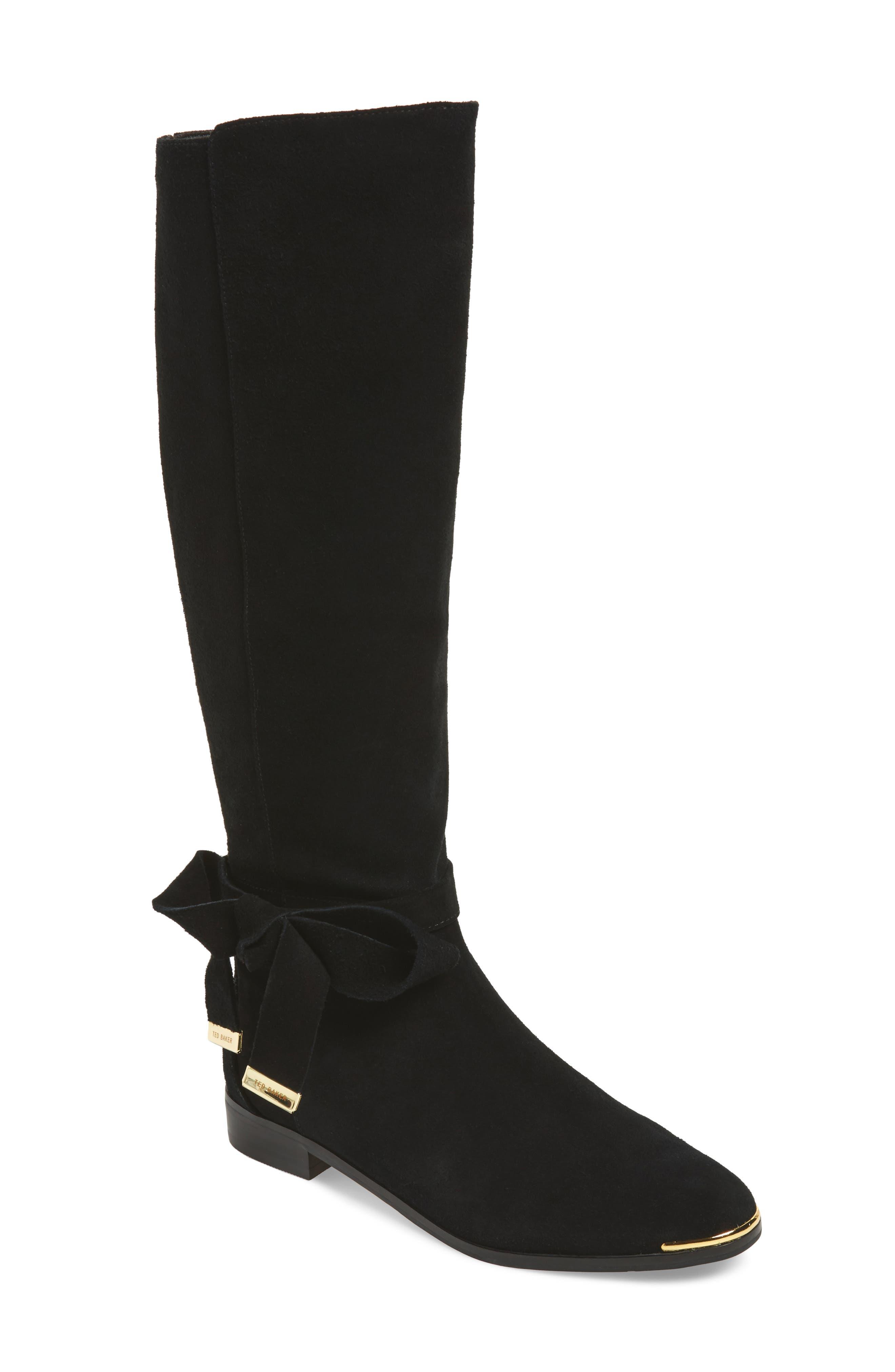 Ted Baker London Alrami Bow Knee High Boot (Women)