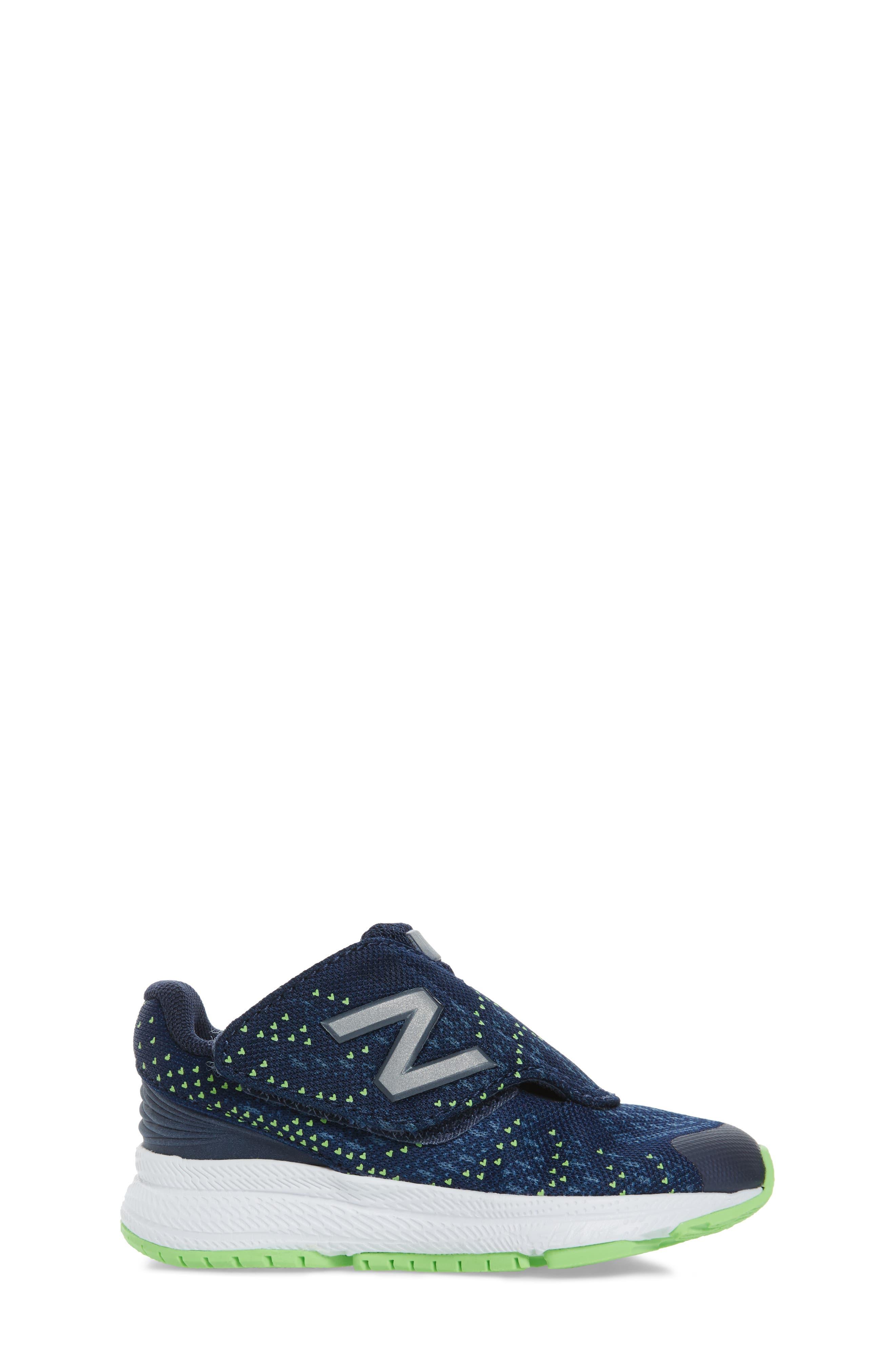 FuelCore Rush v3 Sneaker,                             Alternate thumbnail 3, color,                             Navy