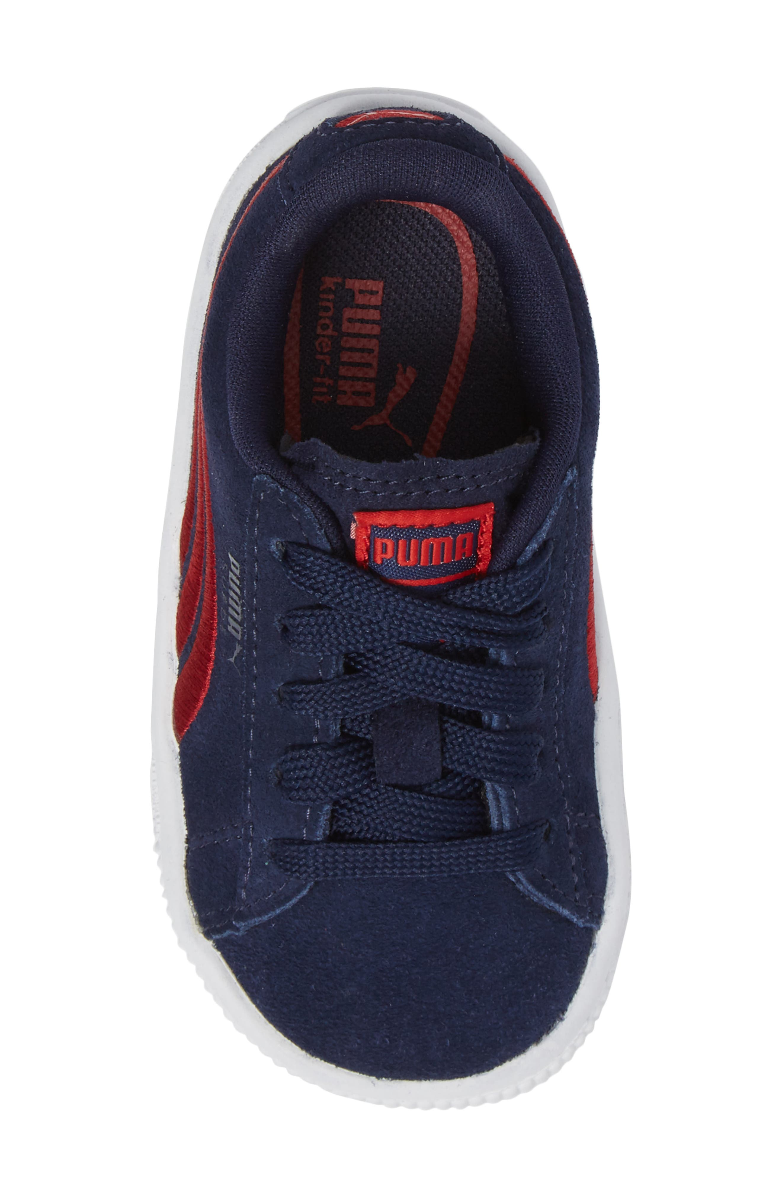 Alternate Image 5  - PUMA Suede Classic Sneaker (Baby, Walker & Toddler)