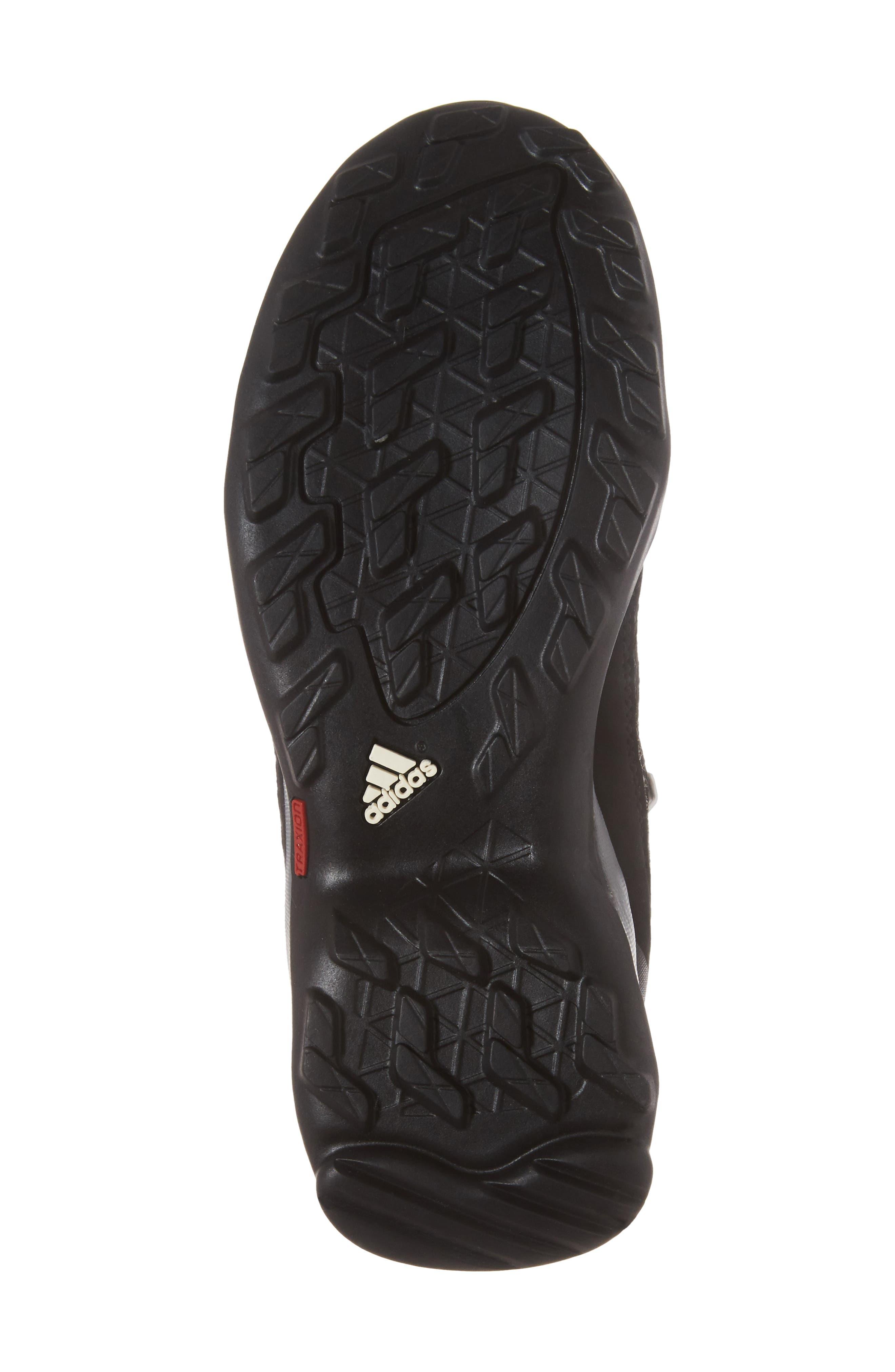 Terrex Mid Gore-Tex<sup>®</sup> Insulated Waterproof Sneaker Boot,                             Alternate thumbnail 6, color,                             Black/ Black/ Vista Grey