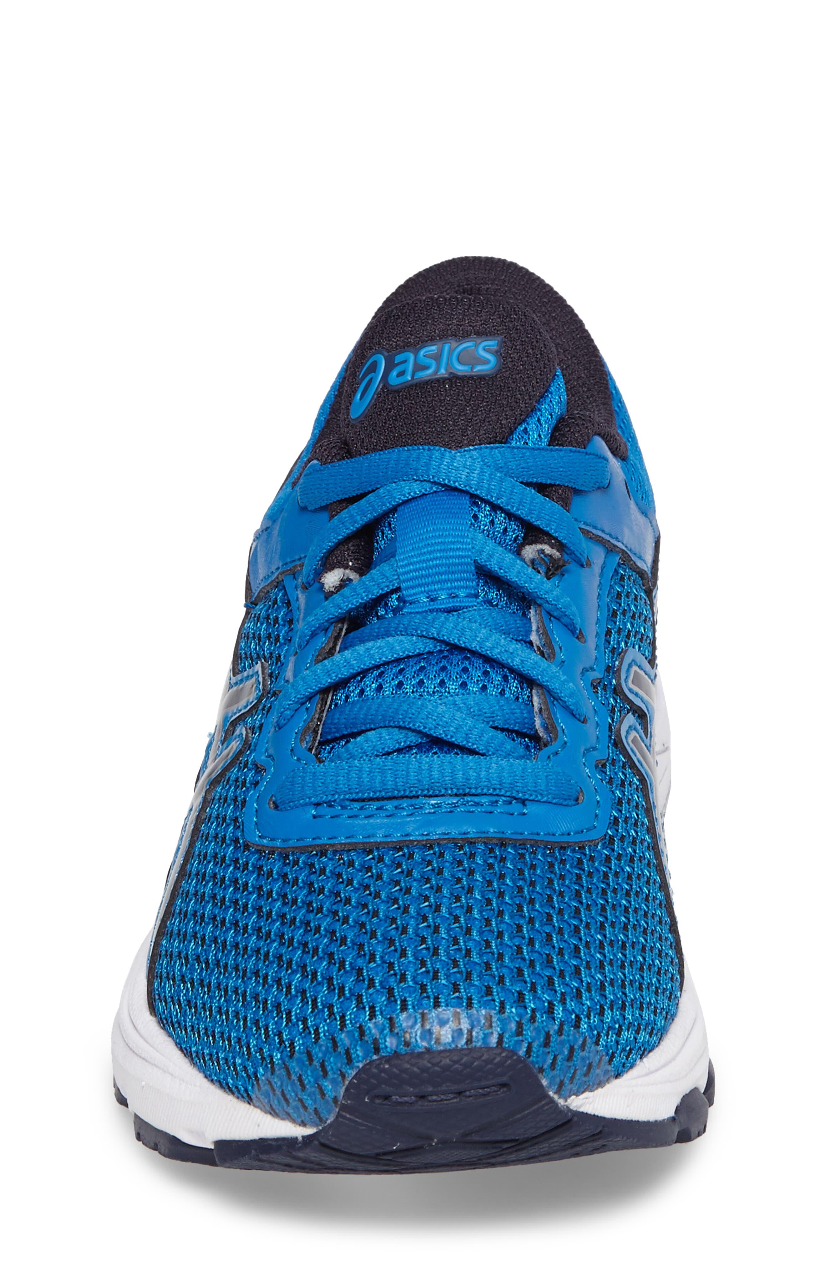 Asics GT-1000<sup>™</sup> 6 GS Sneaker,                             Alternate thumbnail 4, color,                             Blue/ Peacock