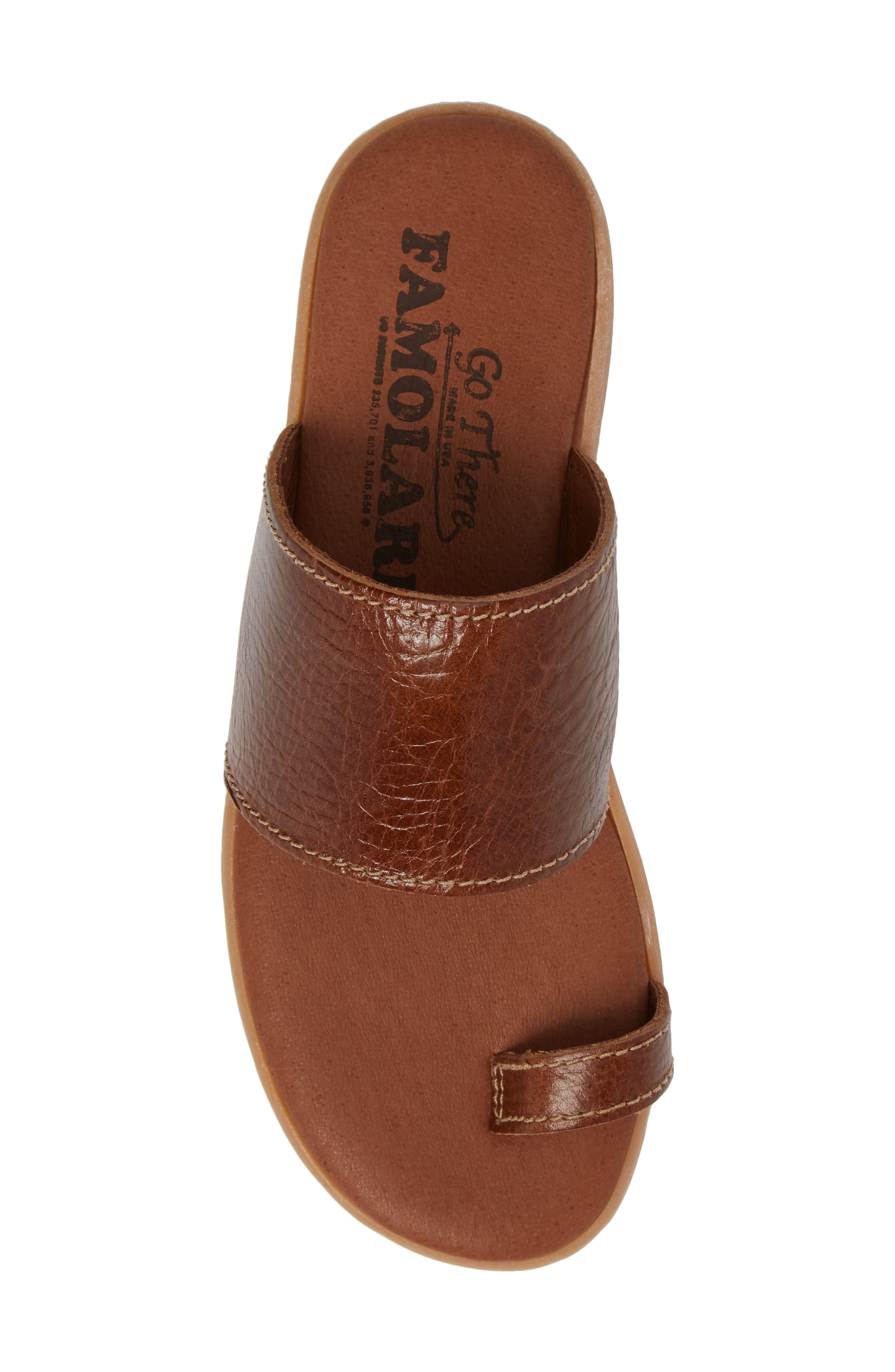 Alternate Image 5  - Famolare Band & Deliver Toe Loop Slide Sandal (Women)