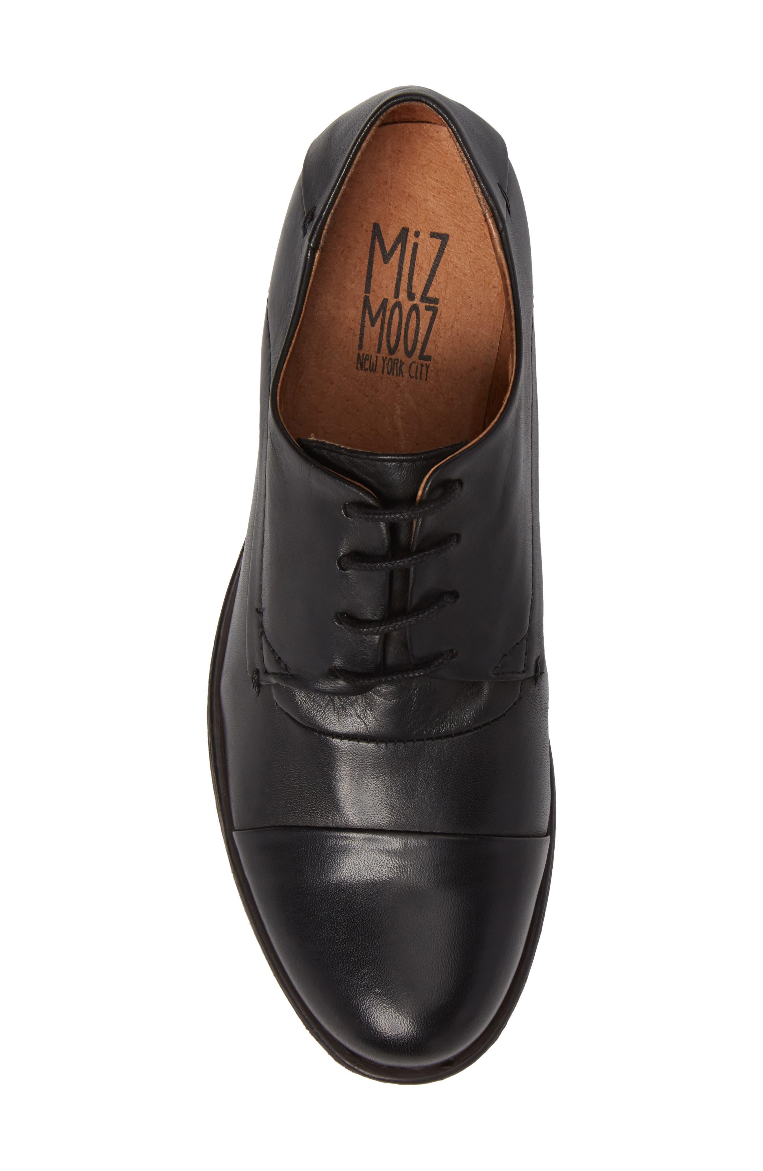 Alternate Image 5  - Miz Mooz Letty Oxford Flat (Women)