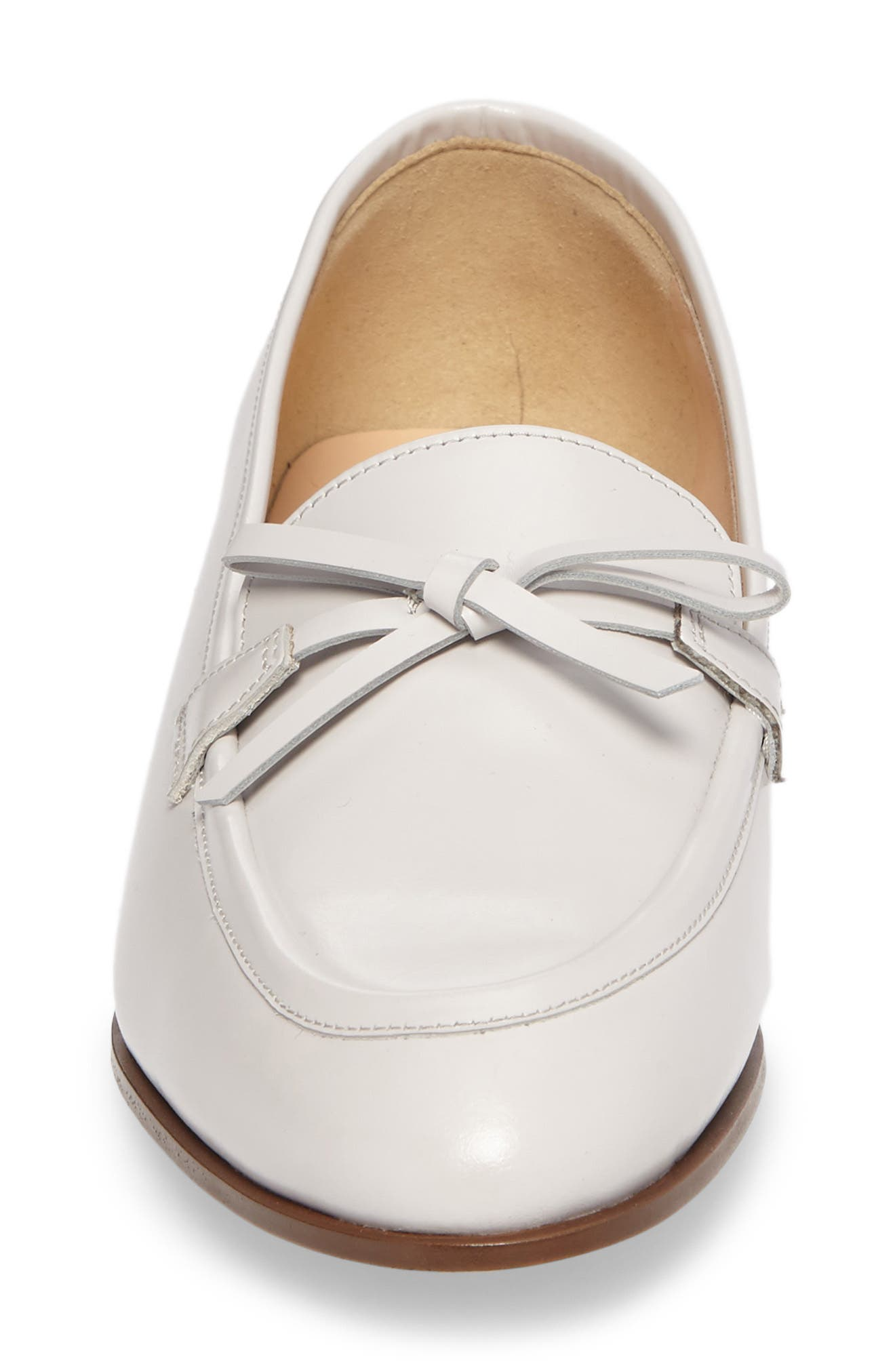 Bow Loafer,                             Alternate thumbnail 4, color,                             Highland Mist Leather