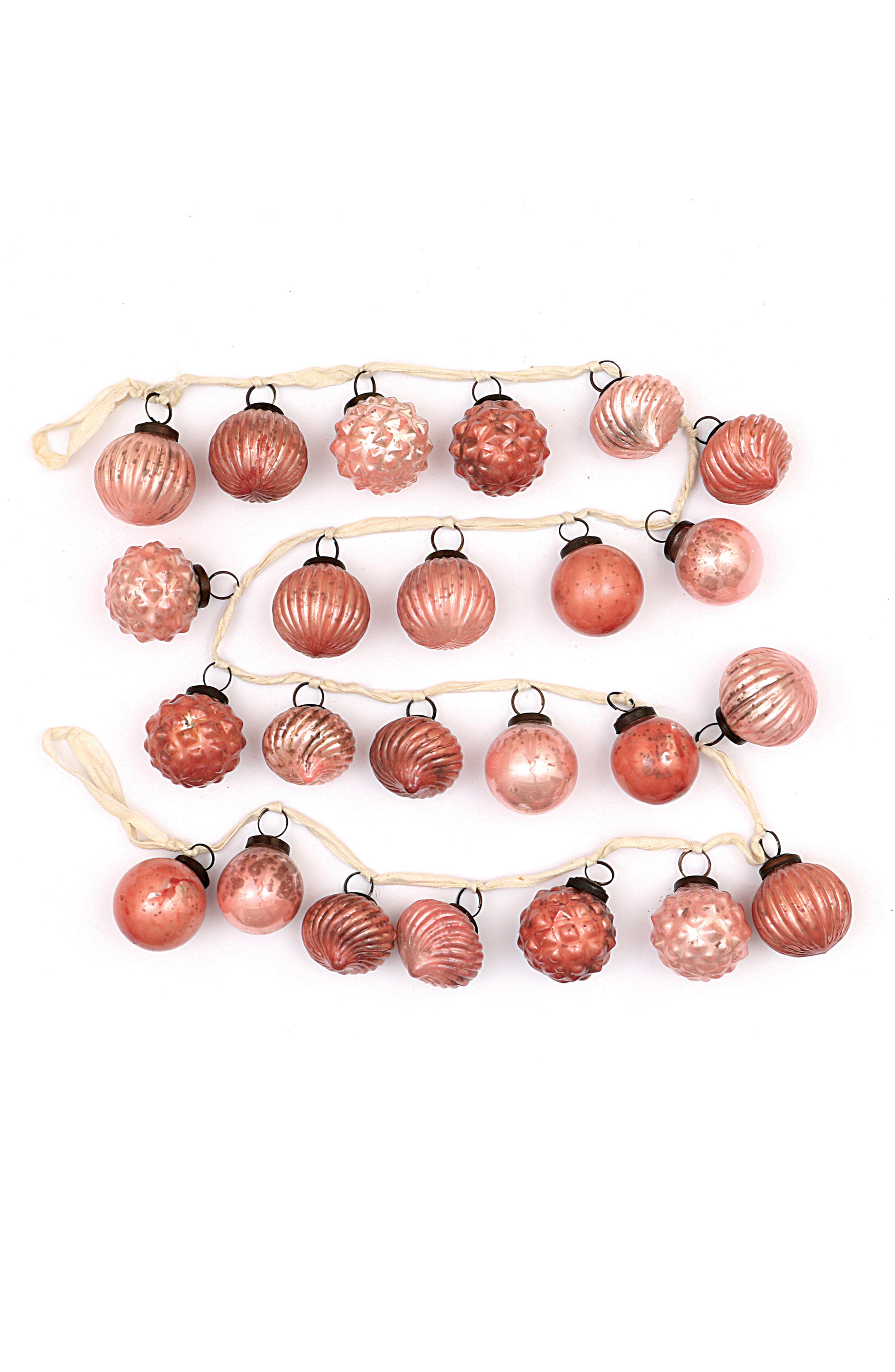 Creative Co-Op Mercury Glass Garland