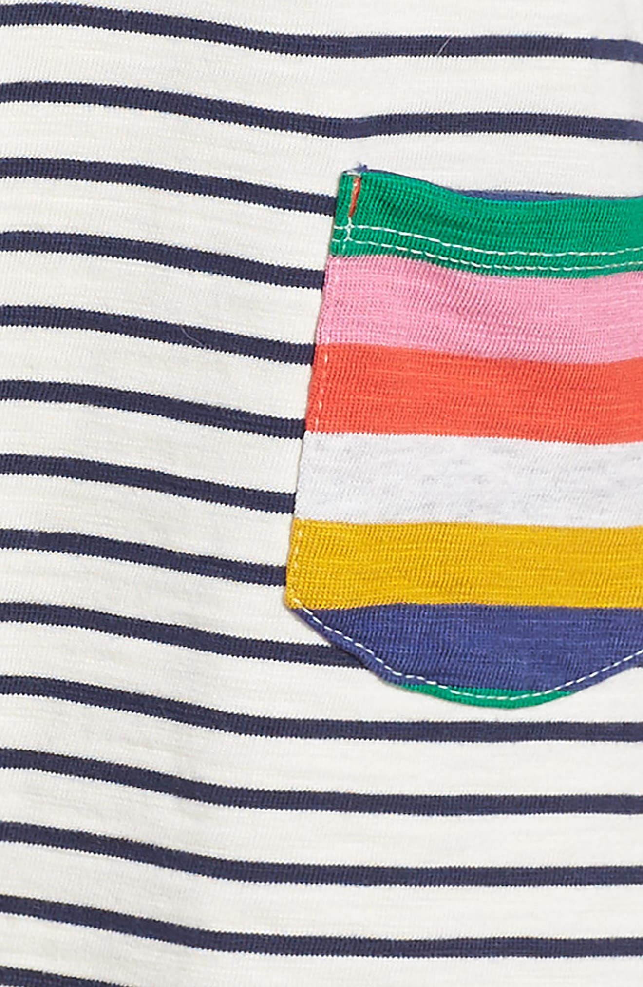 Alternate Image 3  - Mini Boden Stripy Jersey Dress (Toddler Girls, Little Girls & Big Girls)