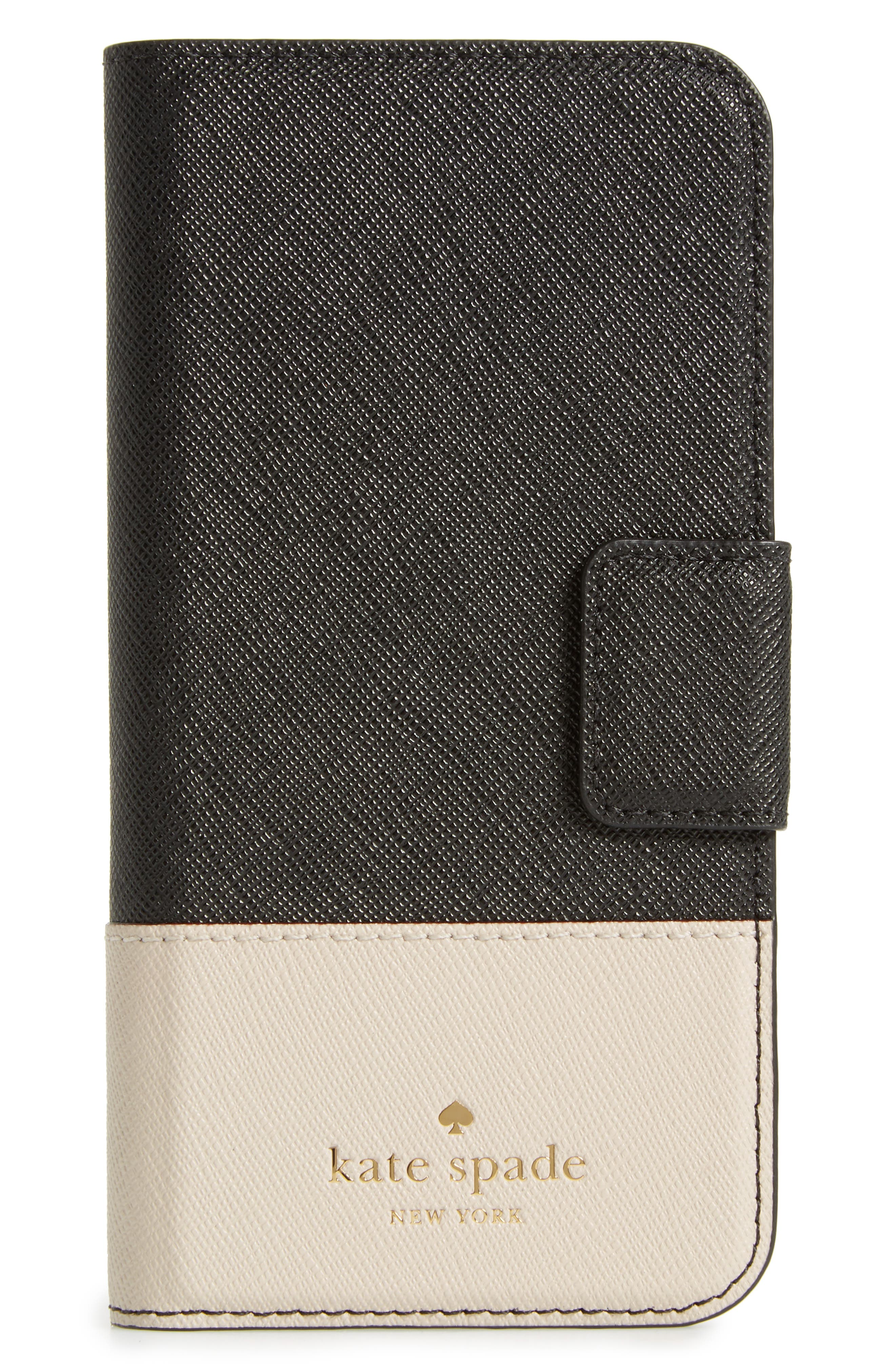 KATE SPADE NEW YORK leather iPhone 7 & 7 Plus folio