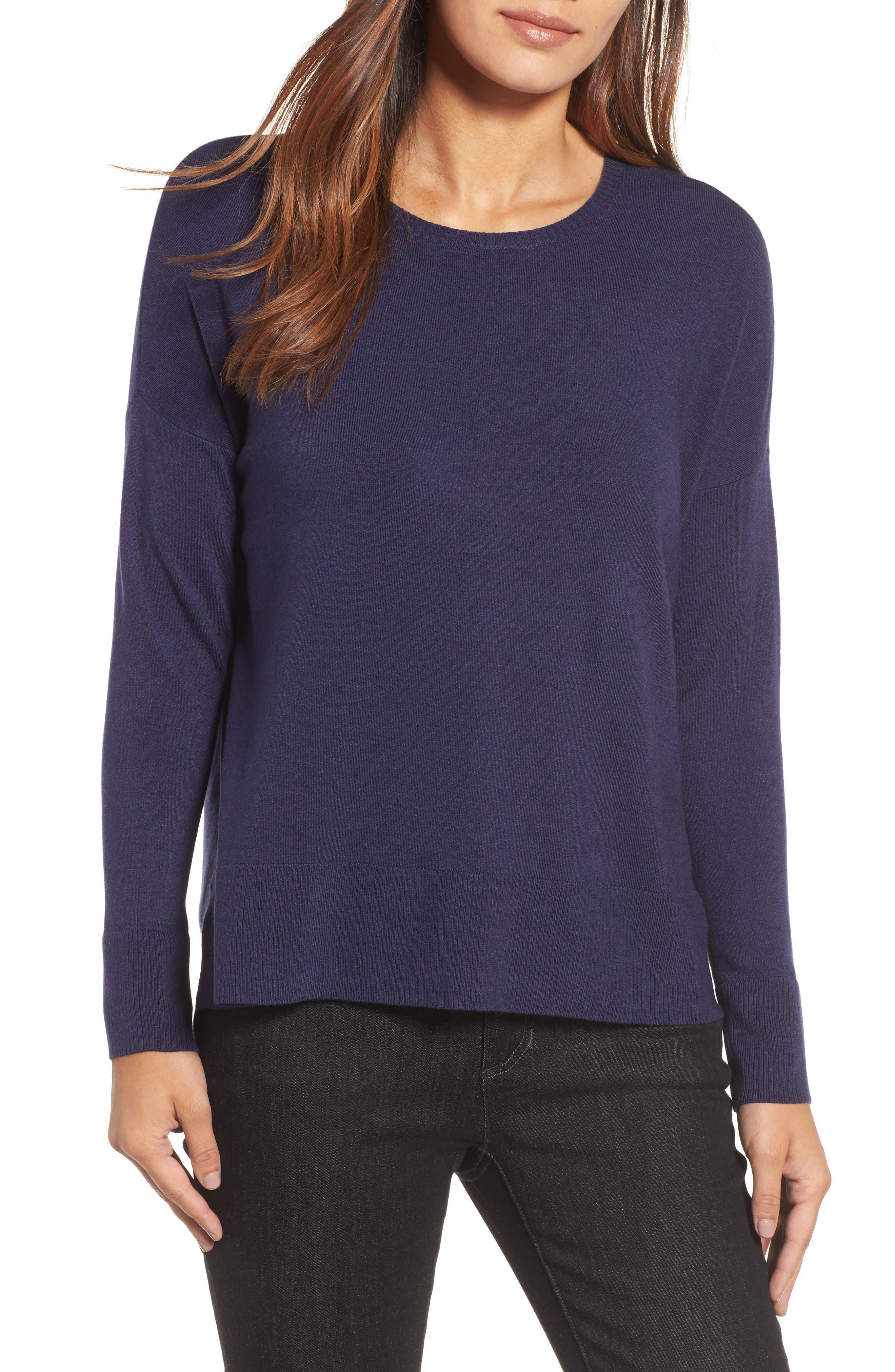Eileen Fisher Round Neck Box Sweater