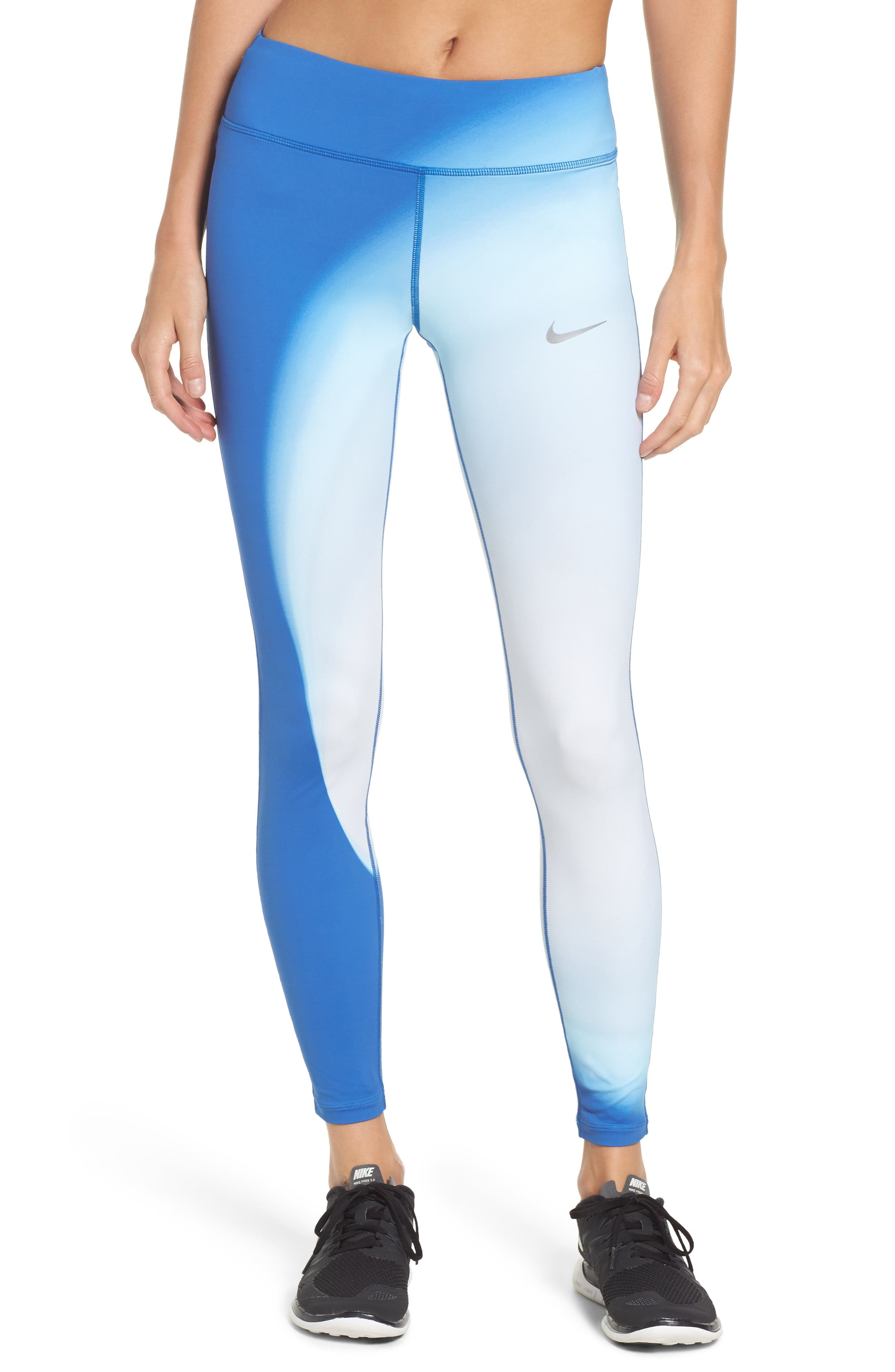 Power Epic Lux 2.0 Running Tights,                             Main thumbnail 1, color,                             Thunder Blue