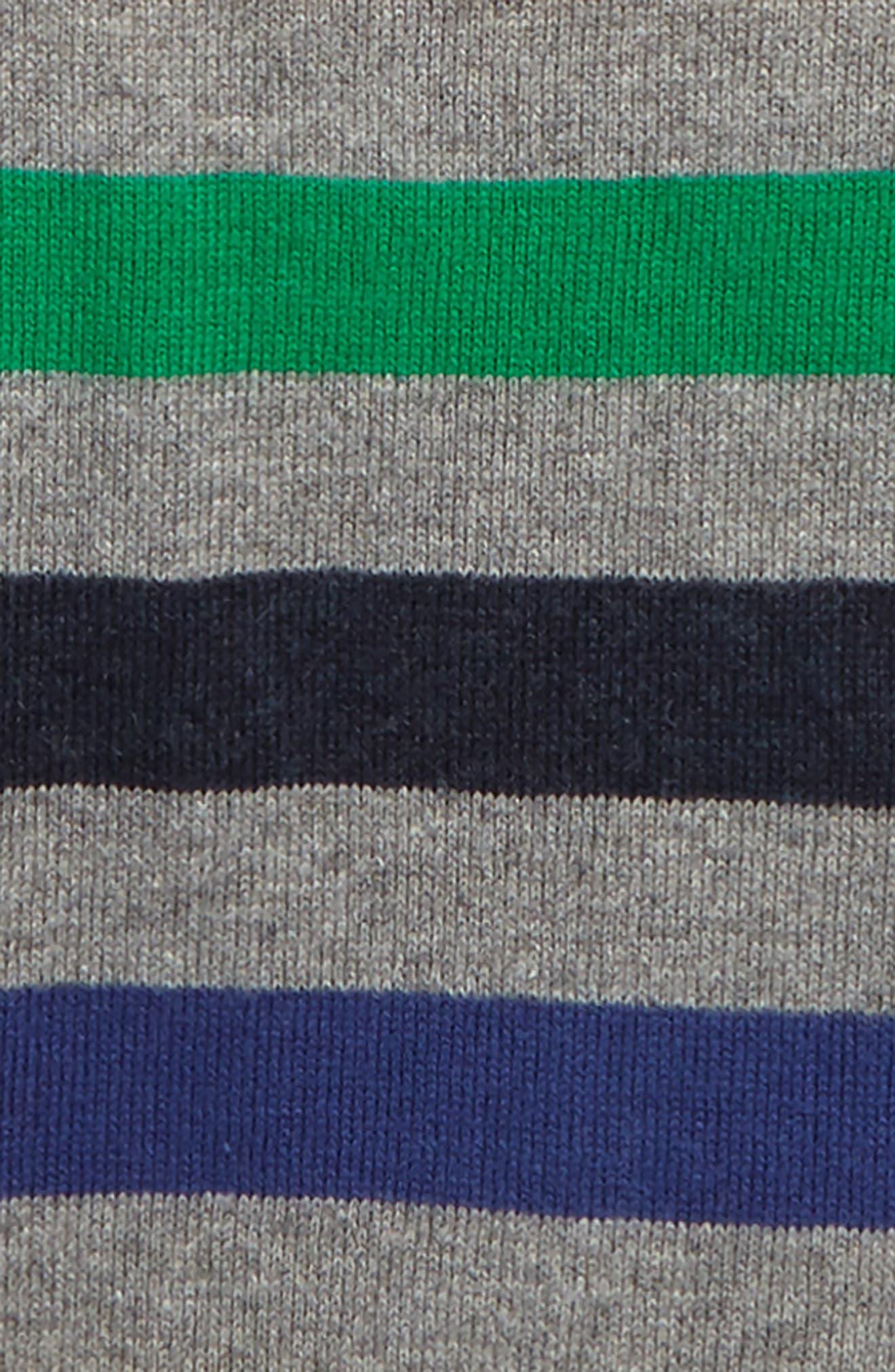 Alternate Image 2  - Mini Boden Stripe Sweater (Toddler Boys, Little Boys & Big Boys)