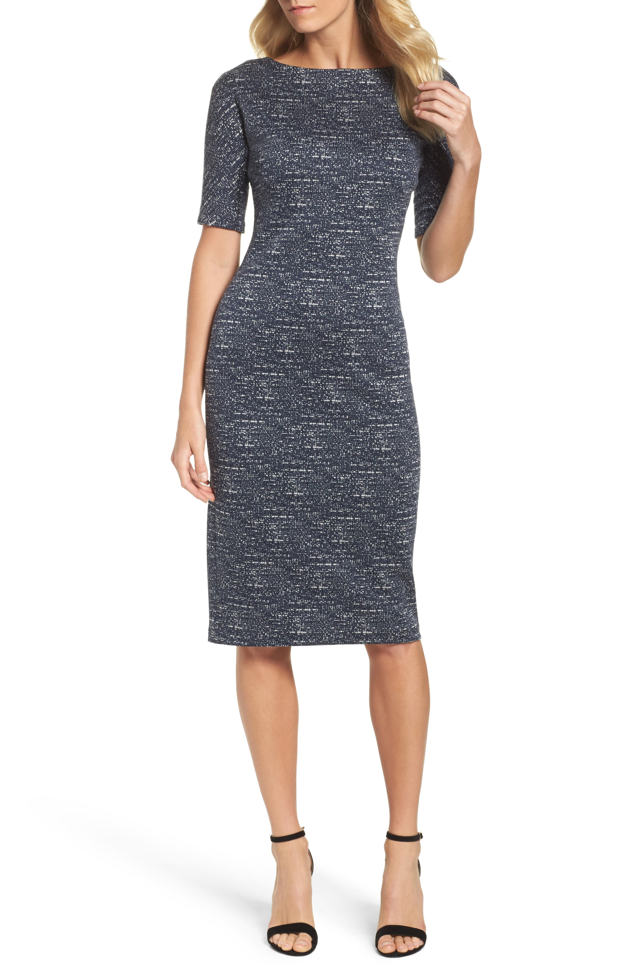 Alternate Image 1 Selected - Maggy London Sheath Dress (Regular & Petite)