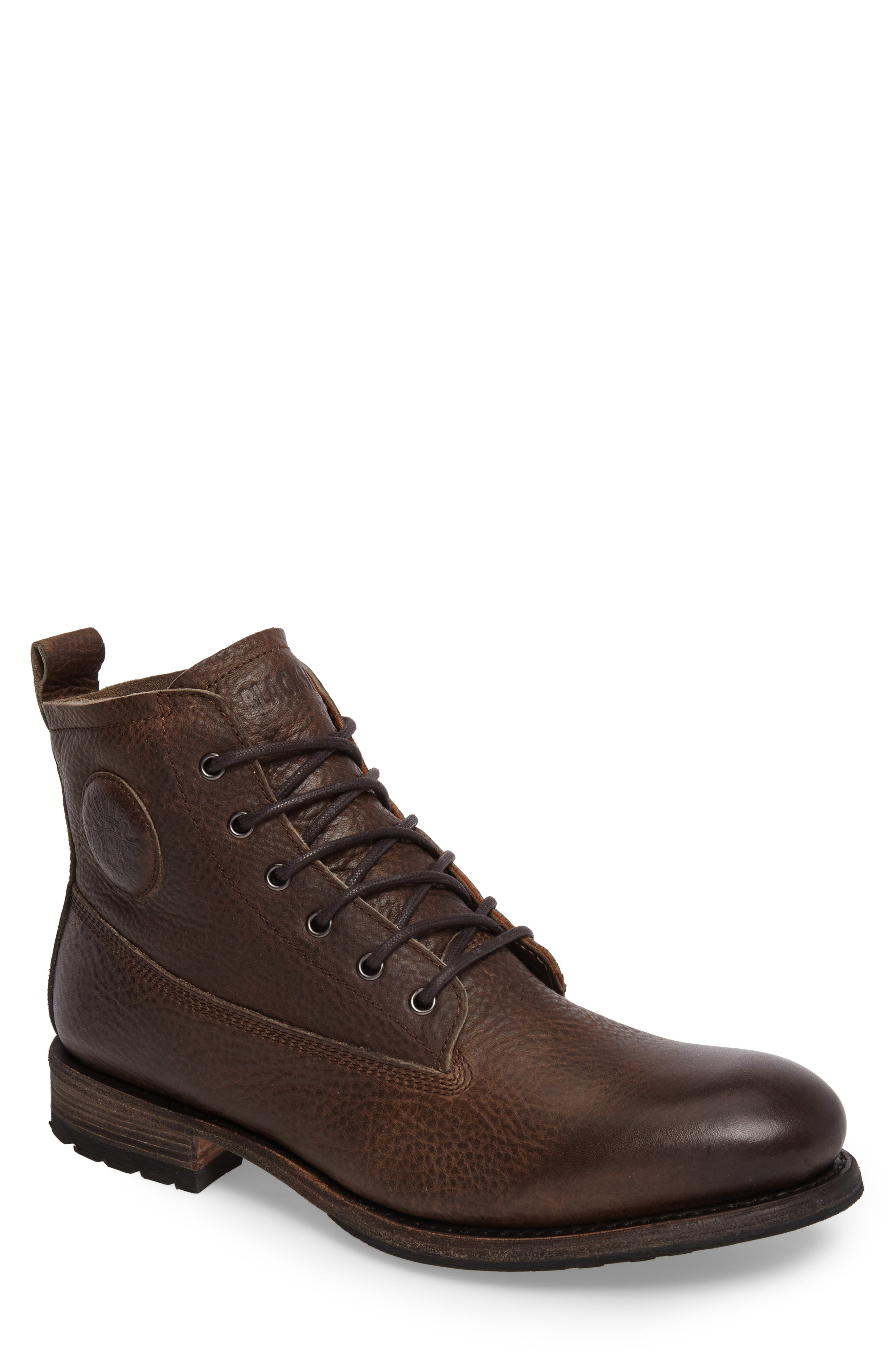 'GM 09' Plain Toe Boot,                         Main,                         color, Gull Leather