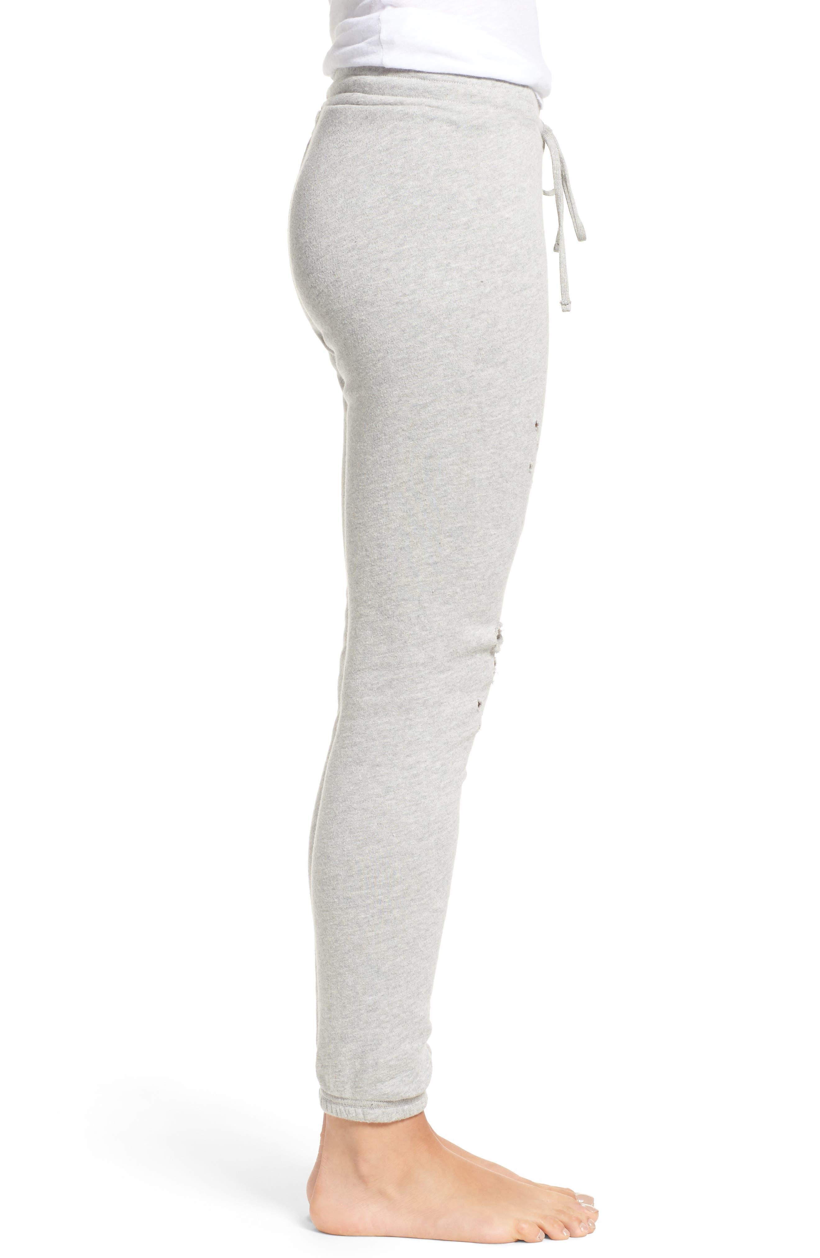 Alternate Image 3  - Michael Lauren Destroyed Jogger Pants