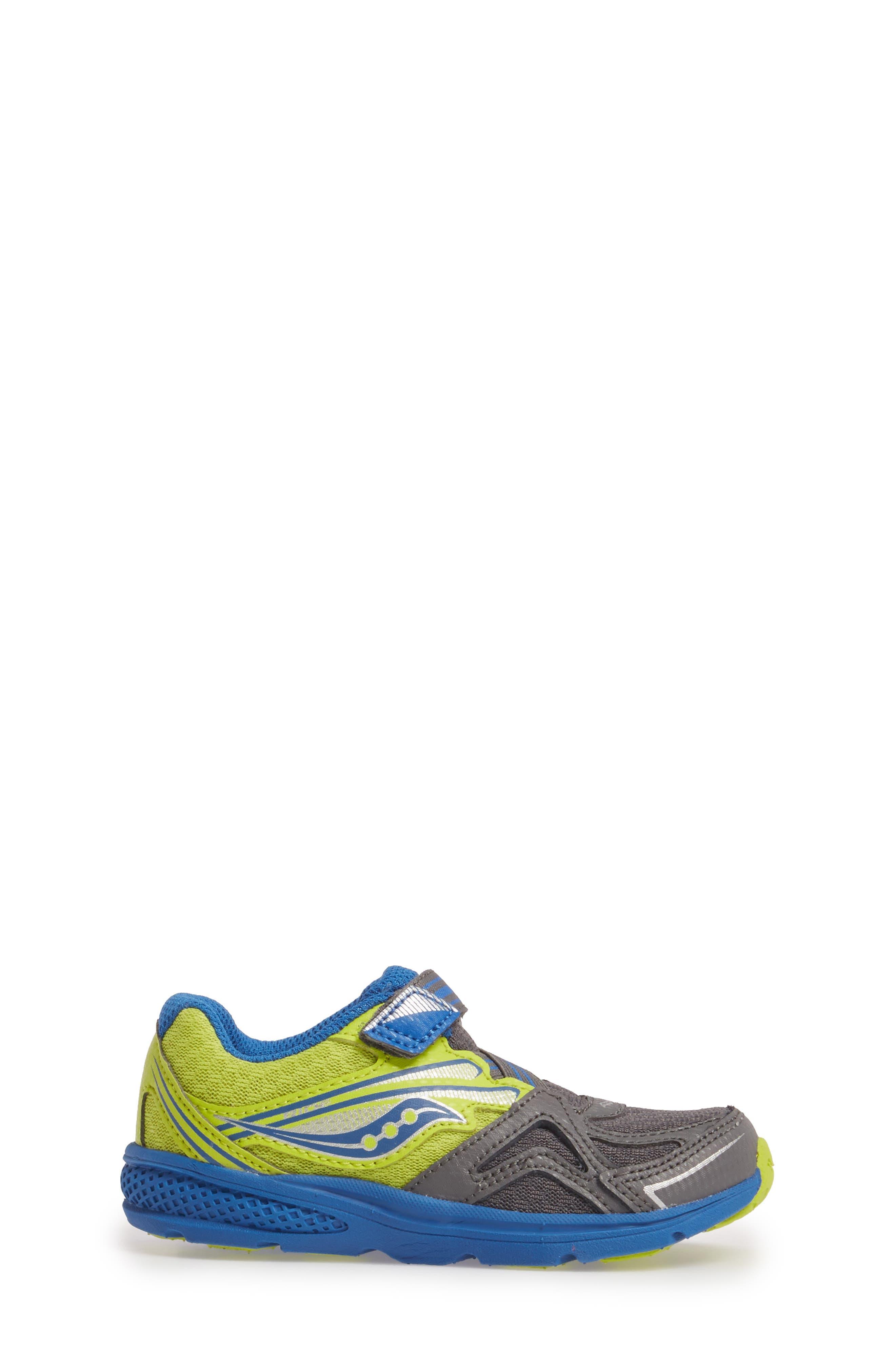 'Ride' Sneaker,                             Alternate thumbnail 3, color,                             Grey/ Lime