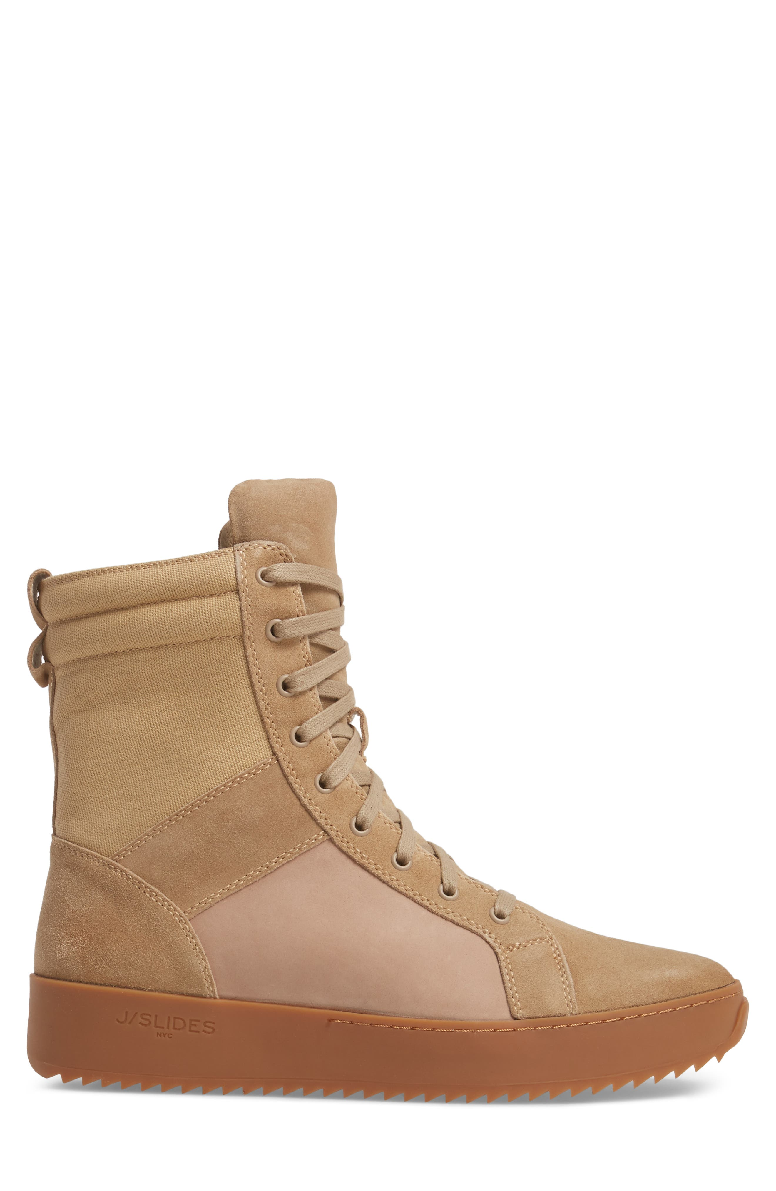 Shane Sneaker,                             Alternate thumbnail 3, color,                             Sand Suede