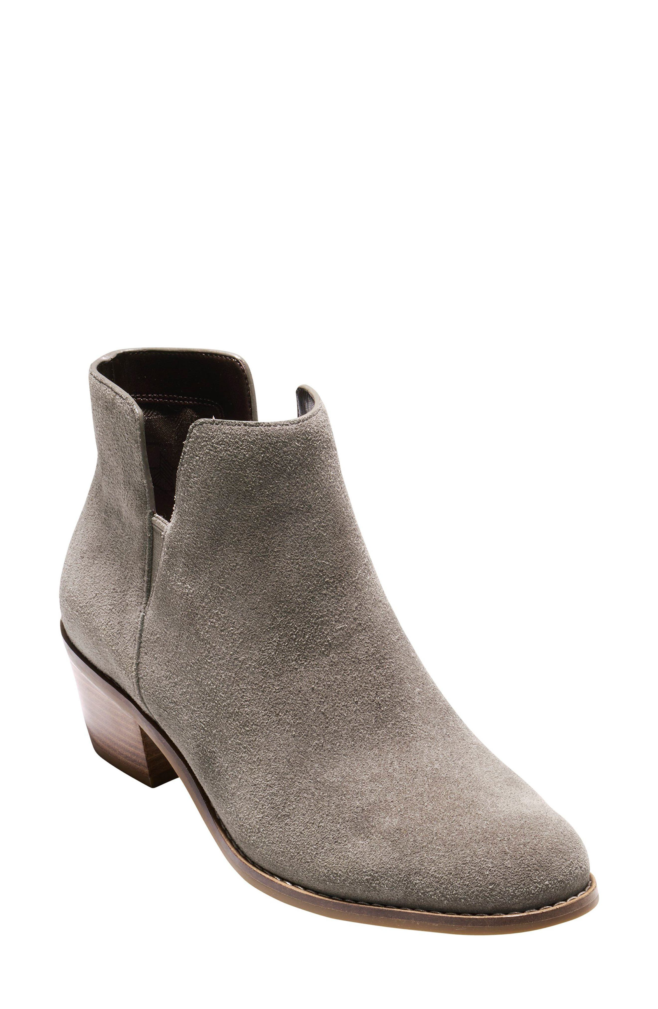 'Abbot' Chelsea Boot,                             Main thumbnail 1, color,                             Morel Suede