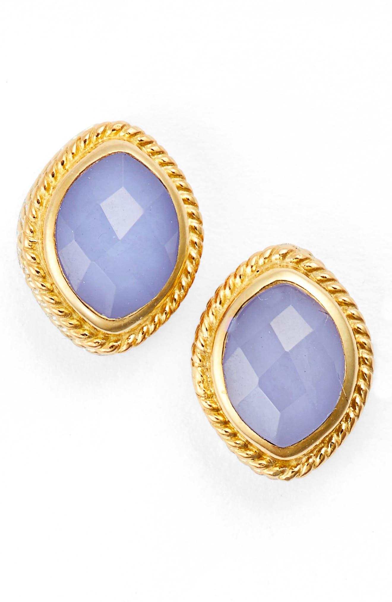 Anna Beck Semiprecious Stud Earrings