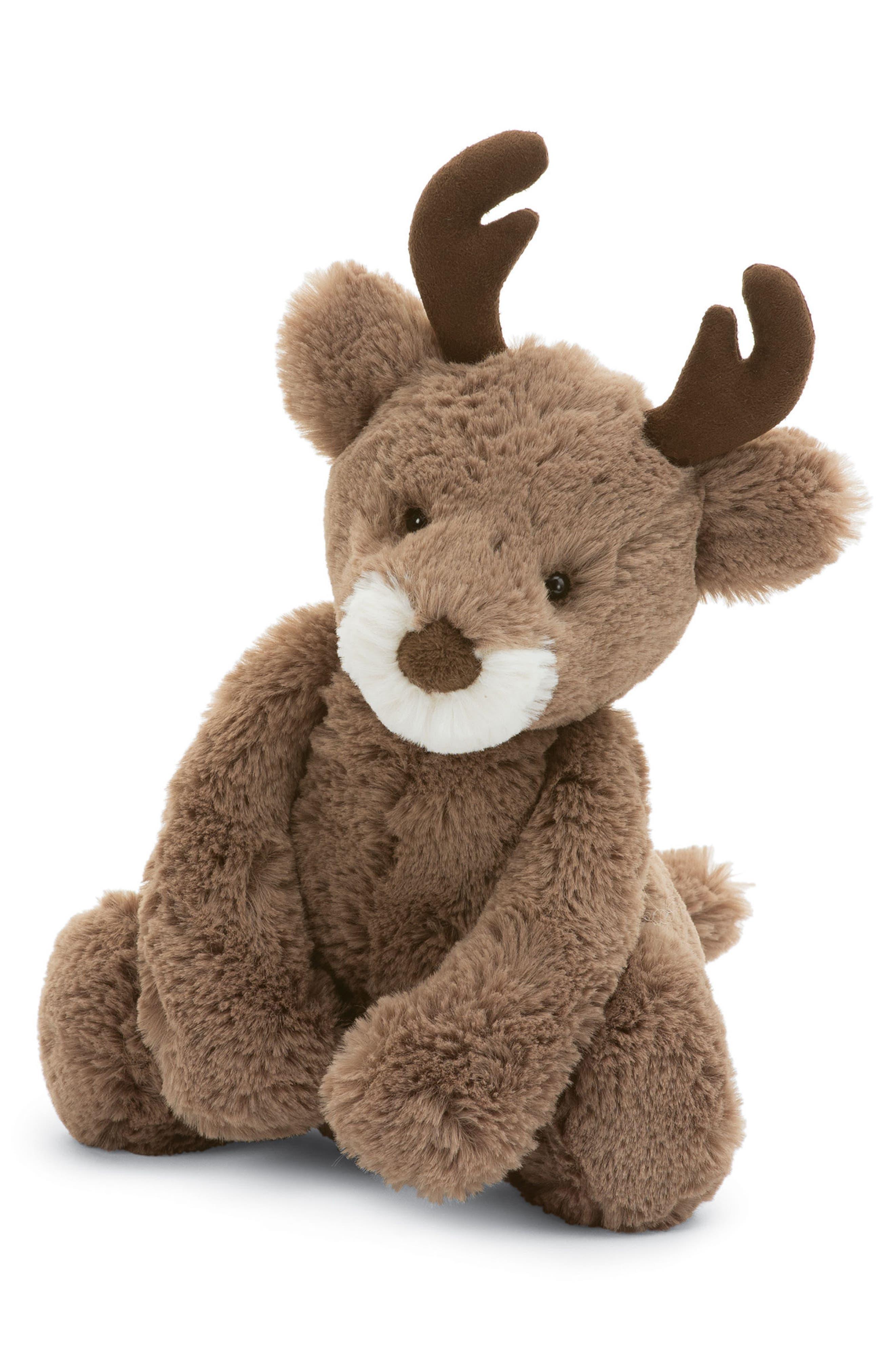 Alternate Image 1 Selected - Jellycat Medium Bashful Reindeer Stuffed Animal
