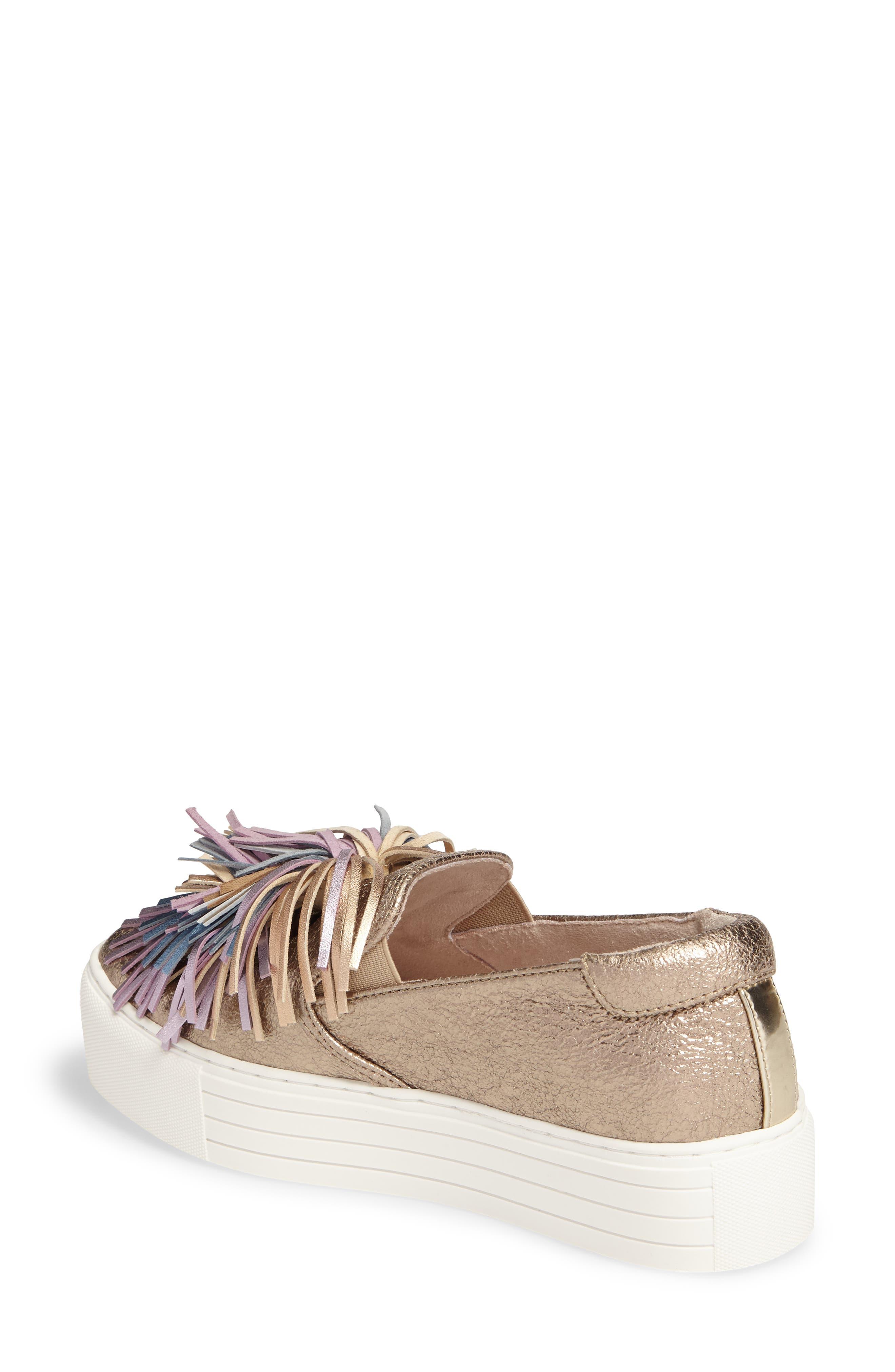 Alternate Image 2  - Kenneth Cole New York Jayson Pom Platform Sneaker (Women)