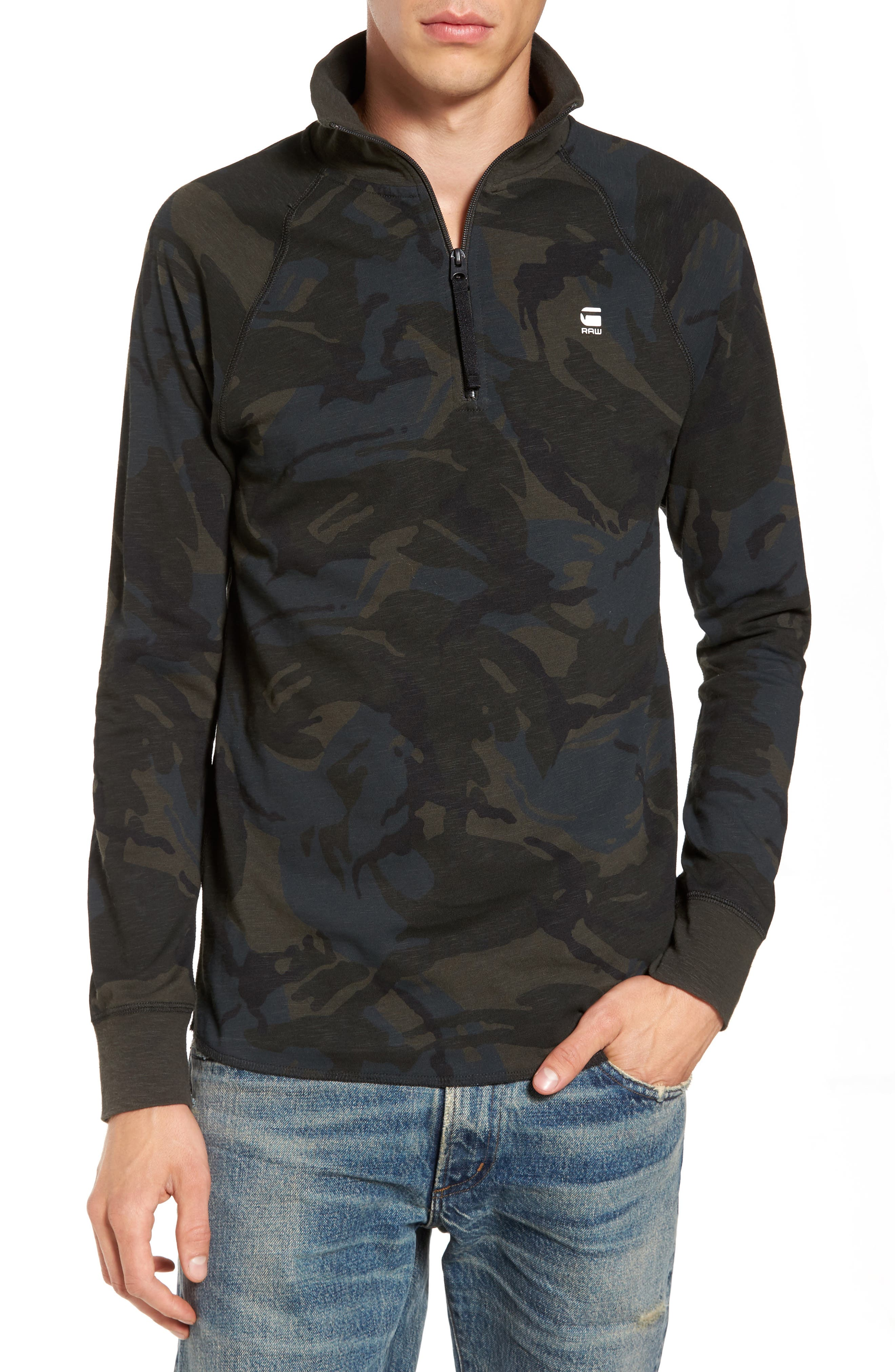 G-Star Raw Jirgi Quarter Zip Jacket