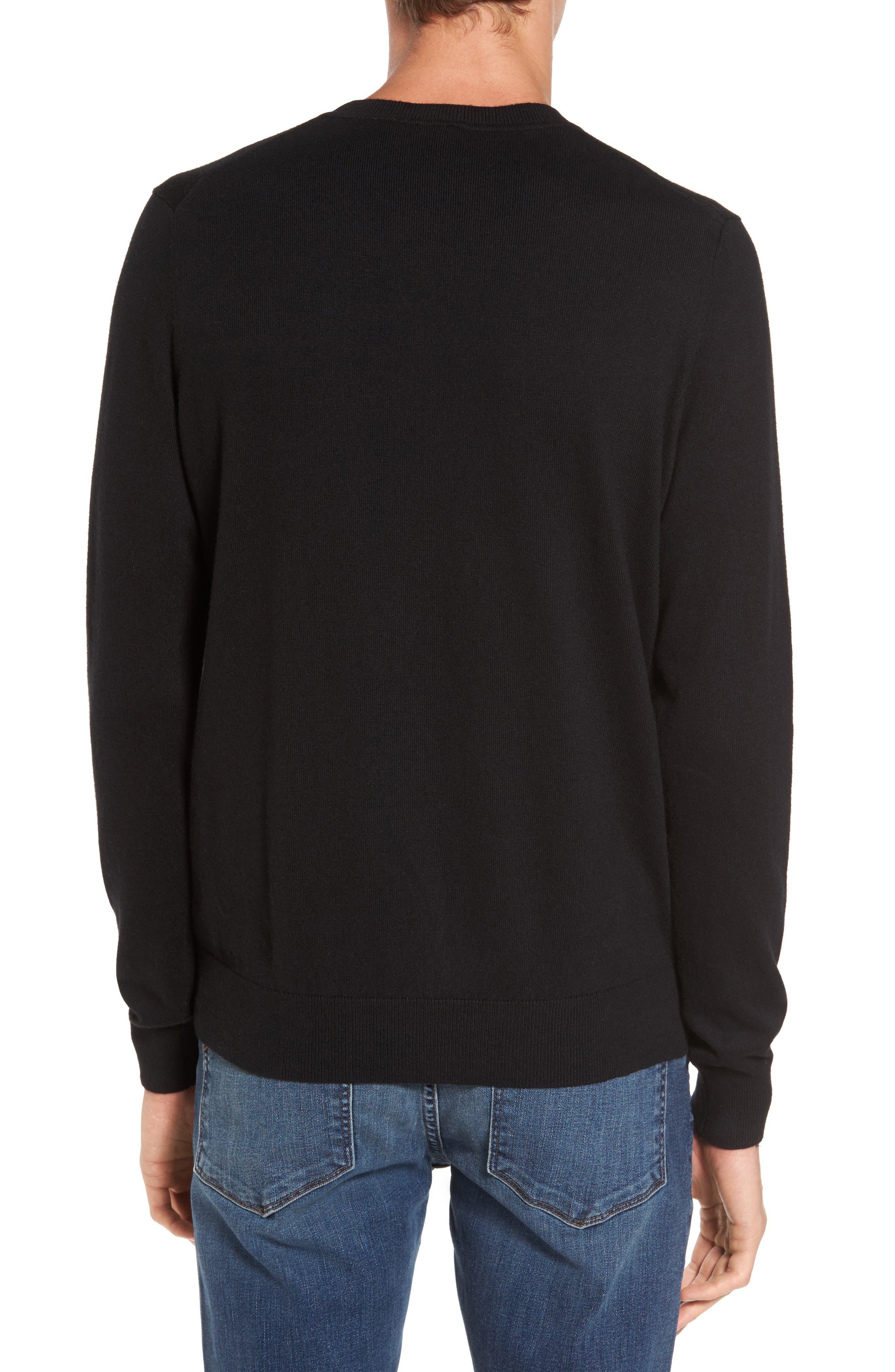 Alternate Image 2  - Lacoste Futurism Graphic Sweater
